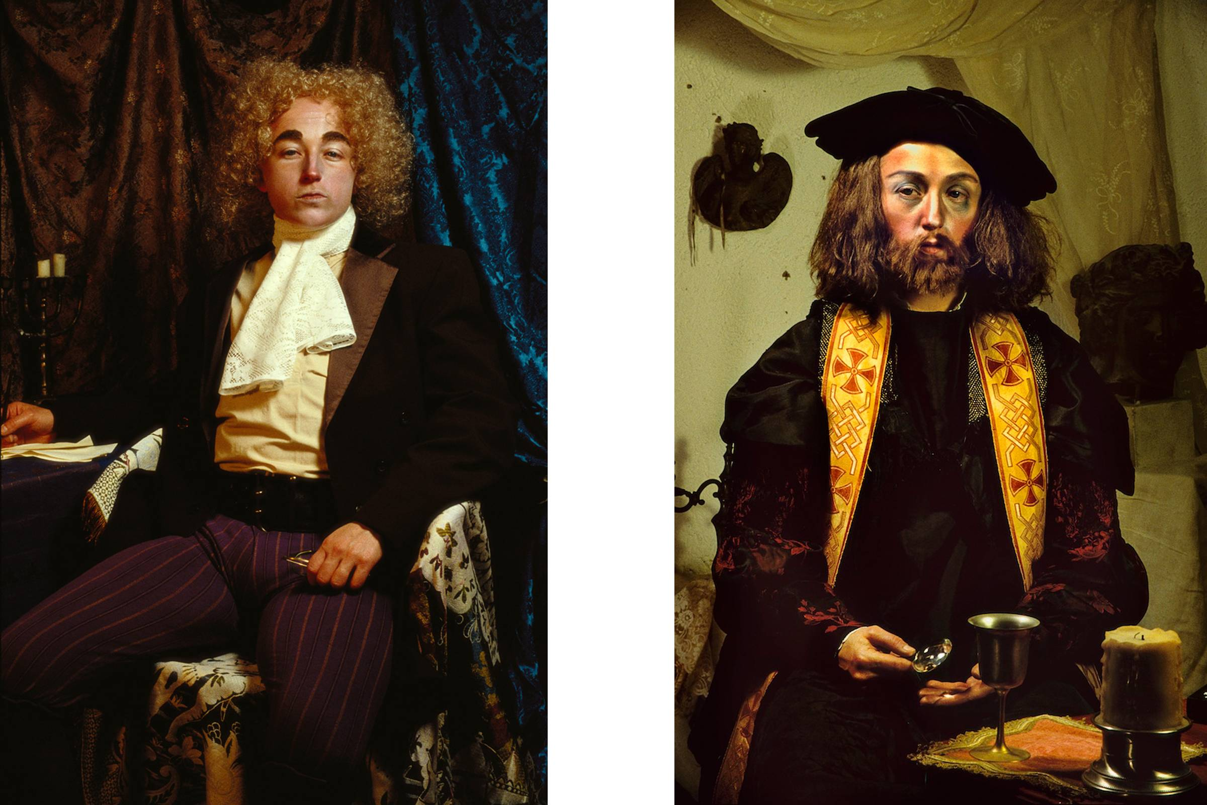 """""""Untitled #201"""" (left) and """"Untitled #210"""" from """"History Portraits"""""""