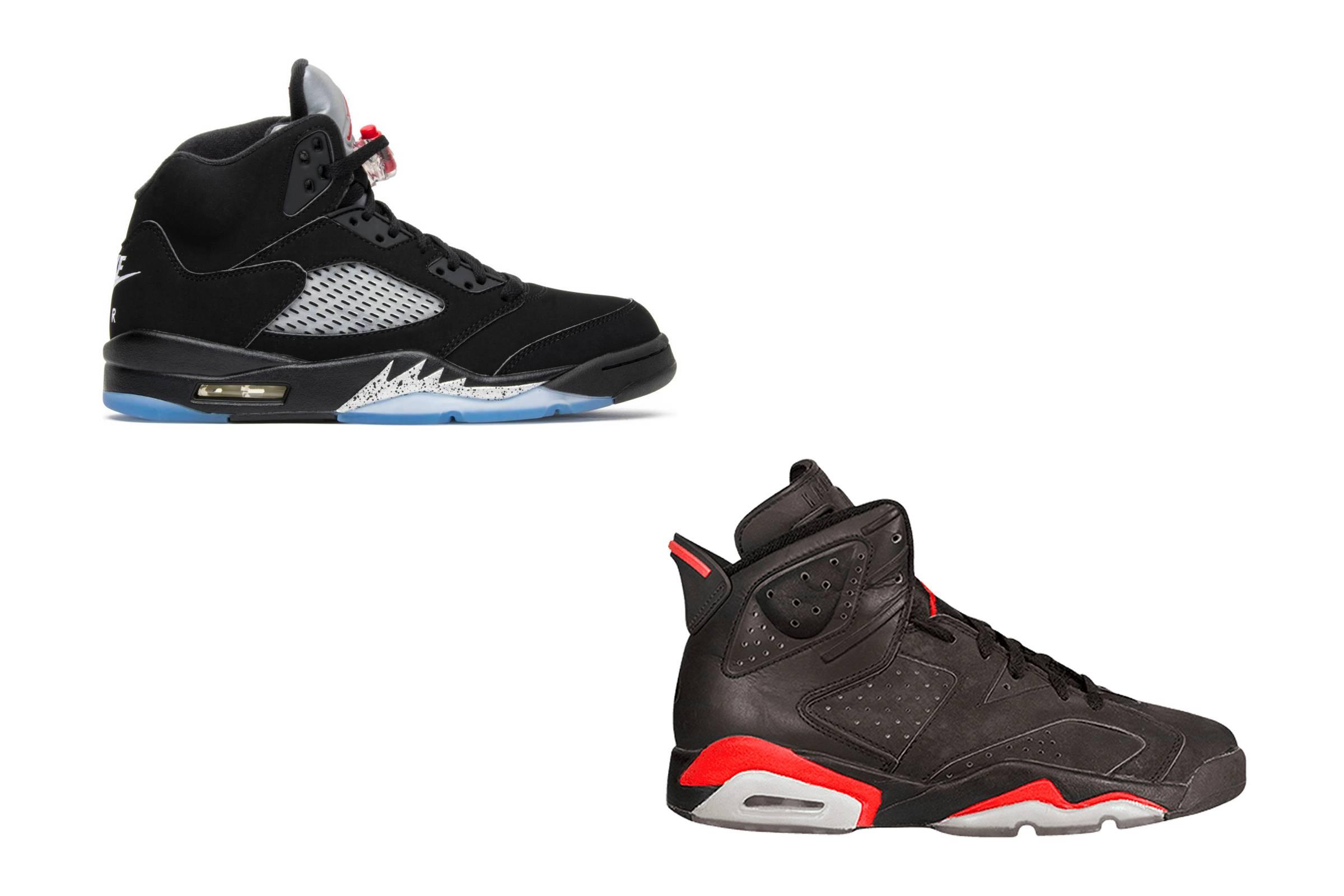 9. (TIE) Jordan V & Jordan VI