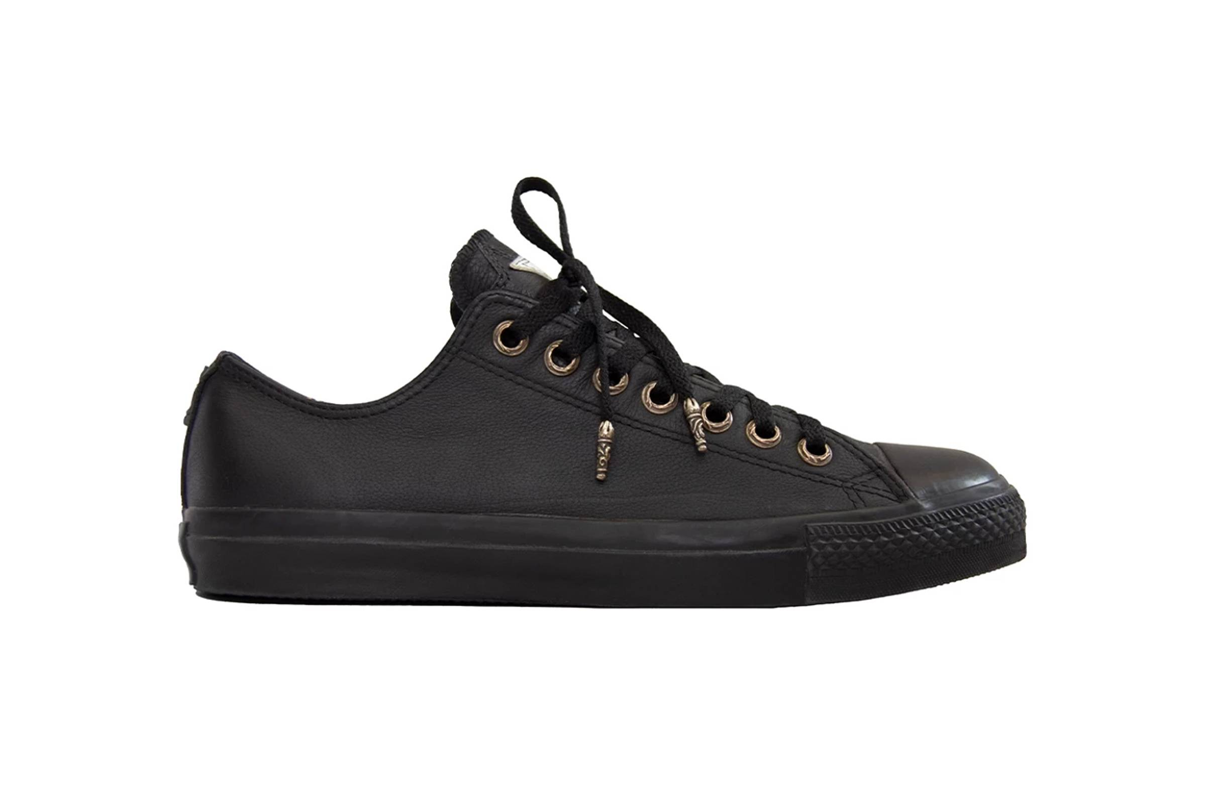 Chrome Hearts x Coverse .925 Silver Embelleshed All-Star Low