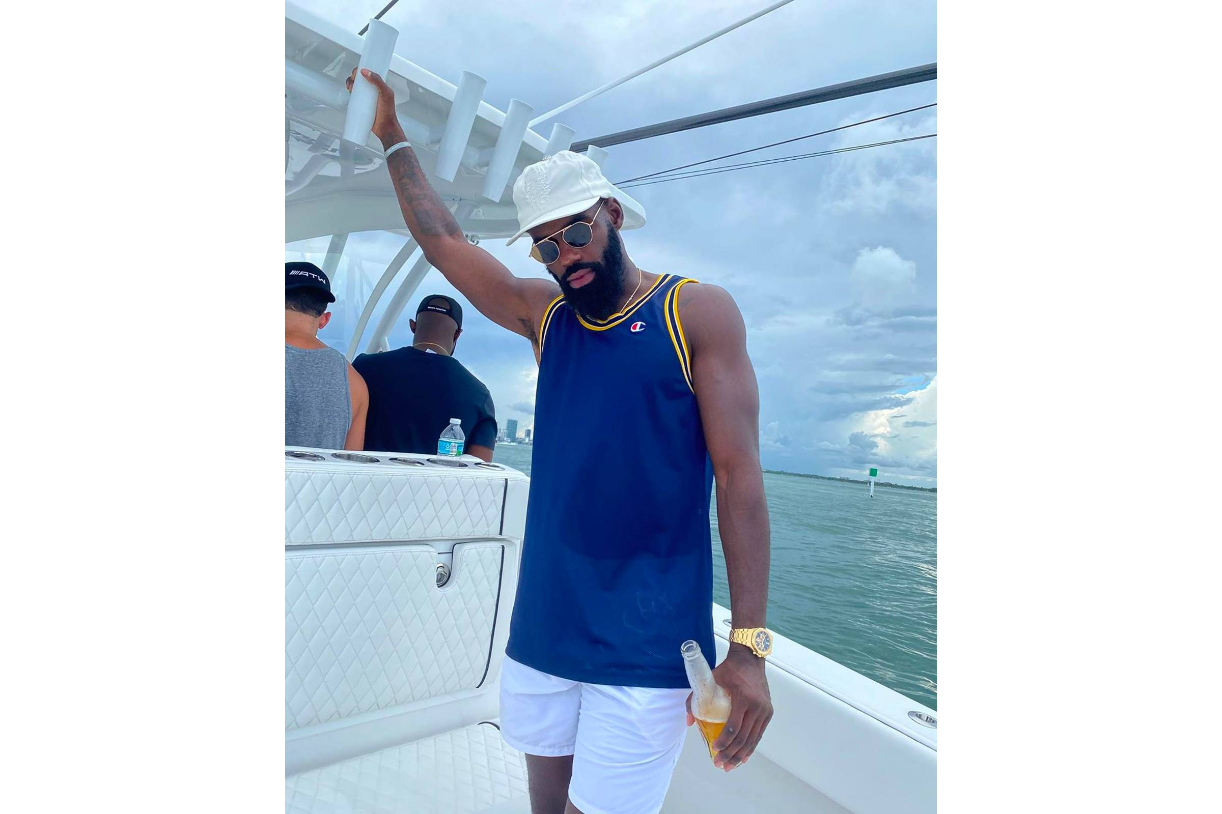 Timmy on a Yacht