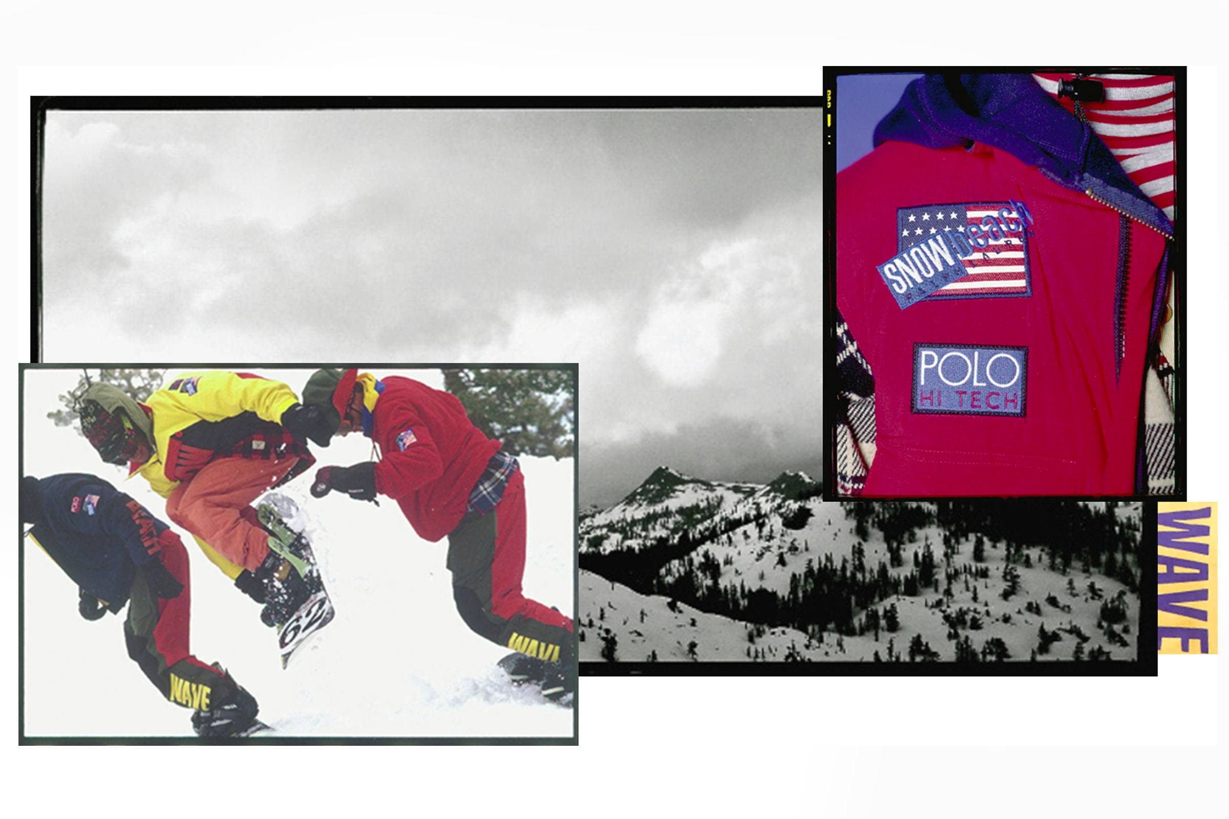 Timeline of the Ralph Lauren Snow Beach Windbreaker