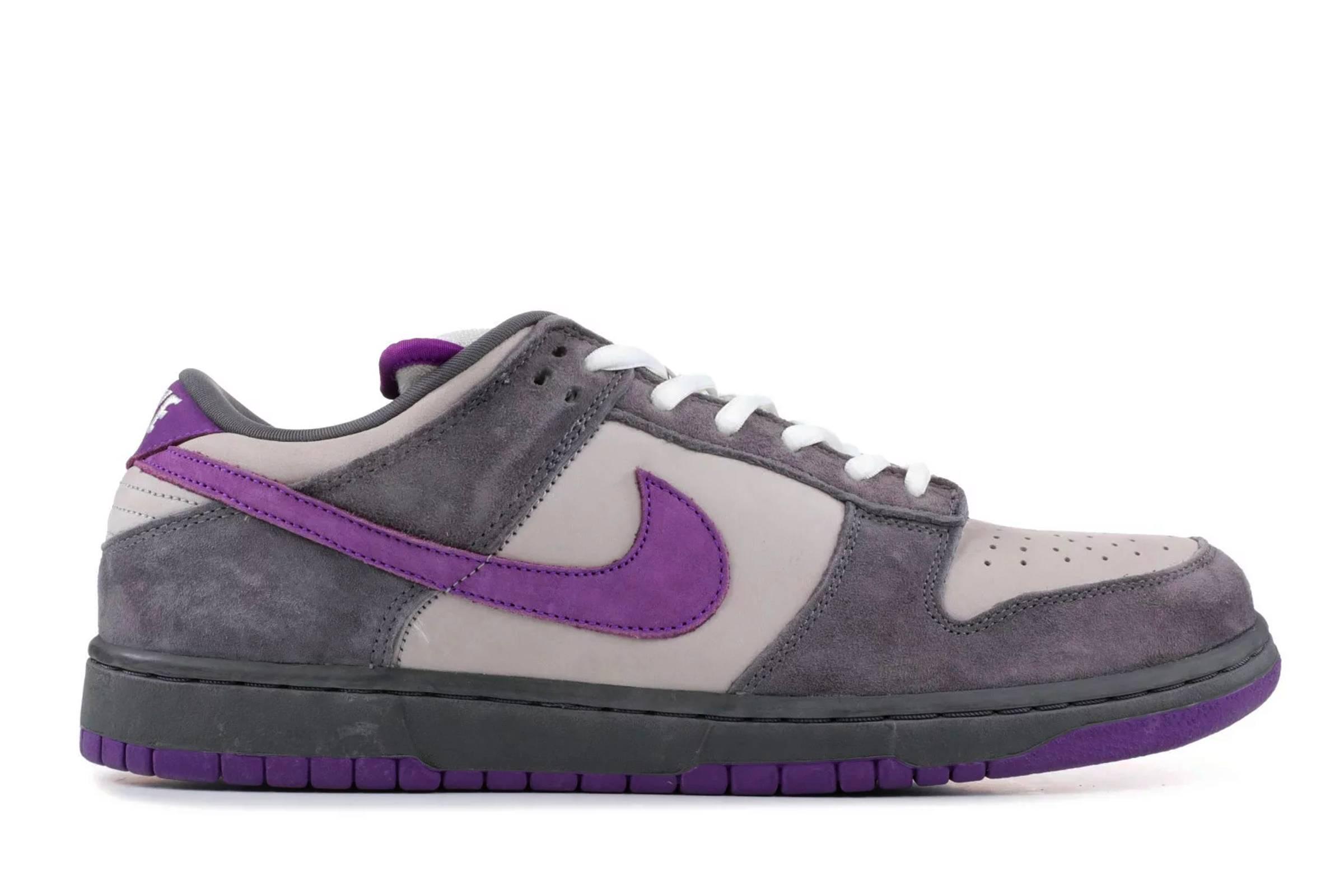 "Nike SB Dunk Low Pro ""Purple Pigeon"""