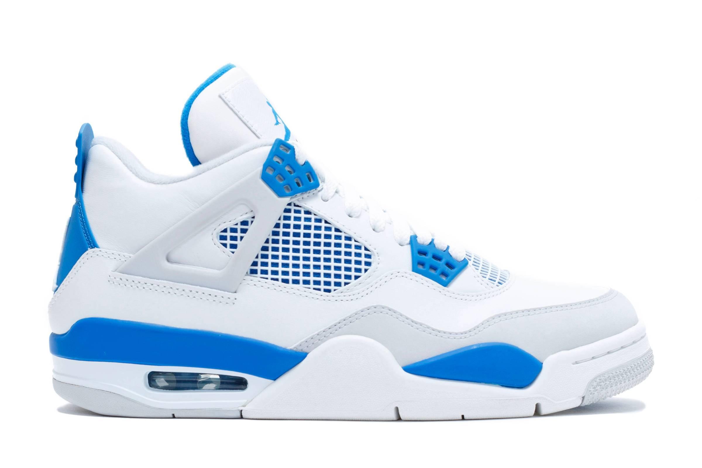 "Jordan IV ""Military Blue"""