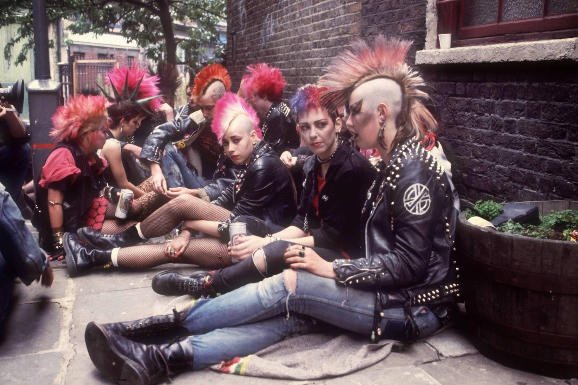 Punks wearing Dr. Martens in 1983