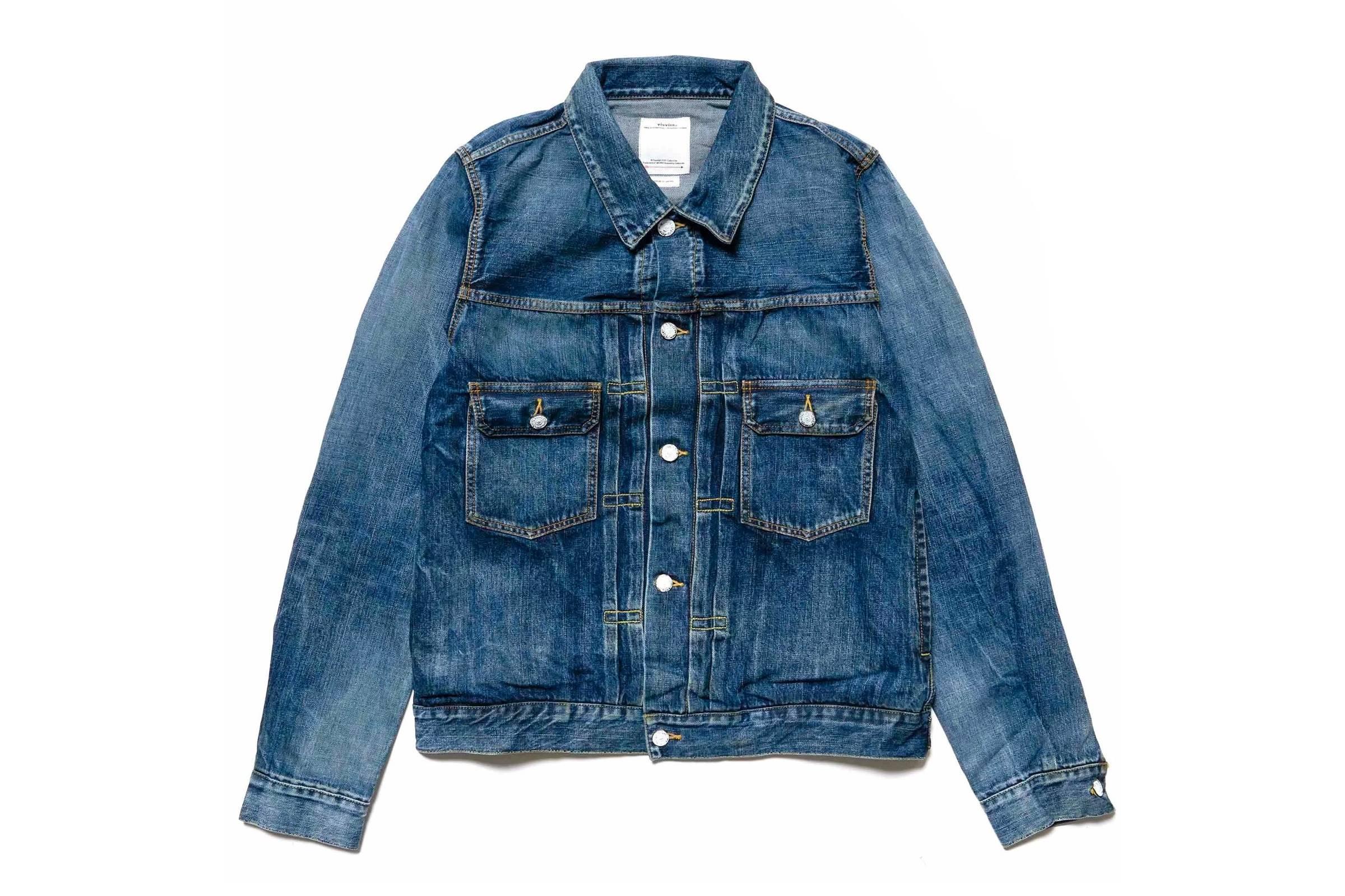 Visvim 101 Jacket Dry Denim
