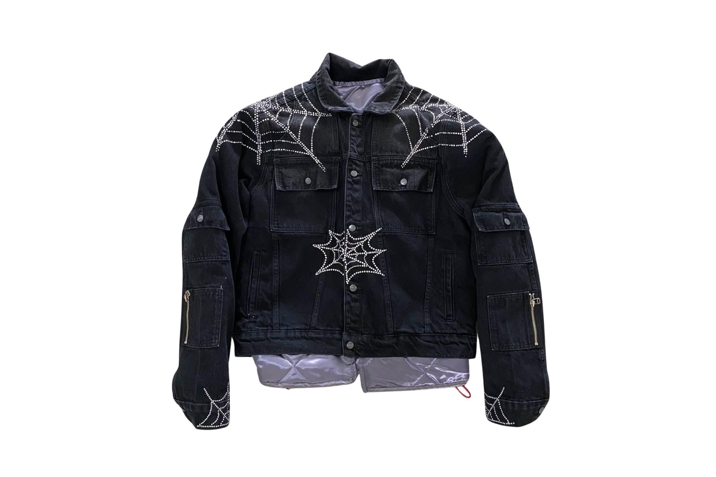 Spider Worldwide Denim Jacket