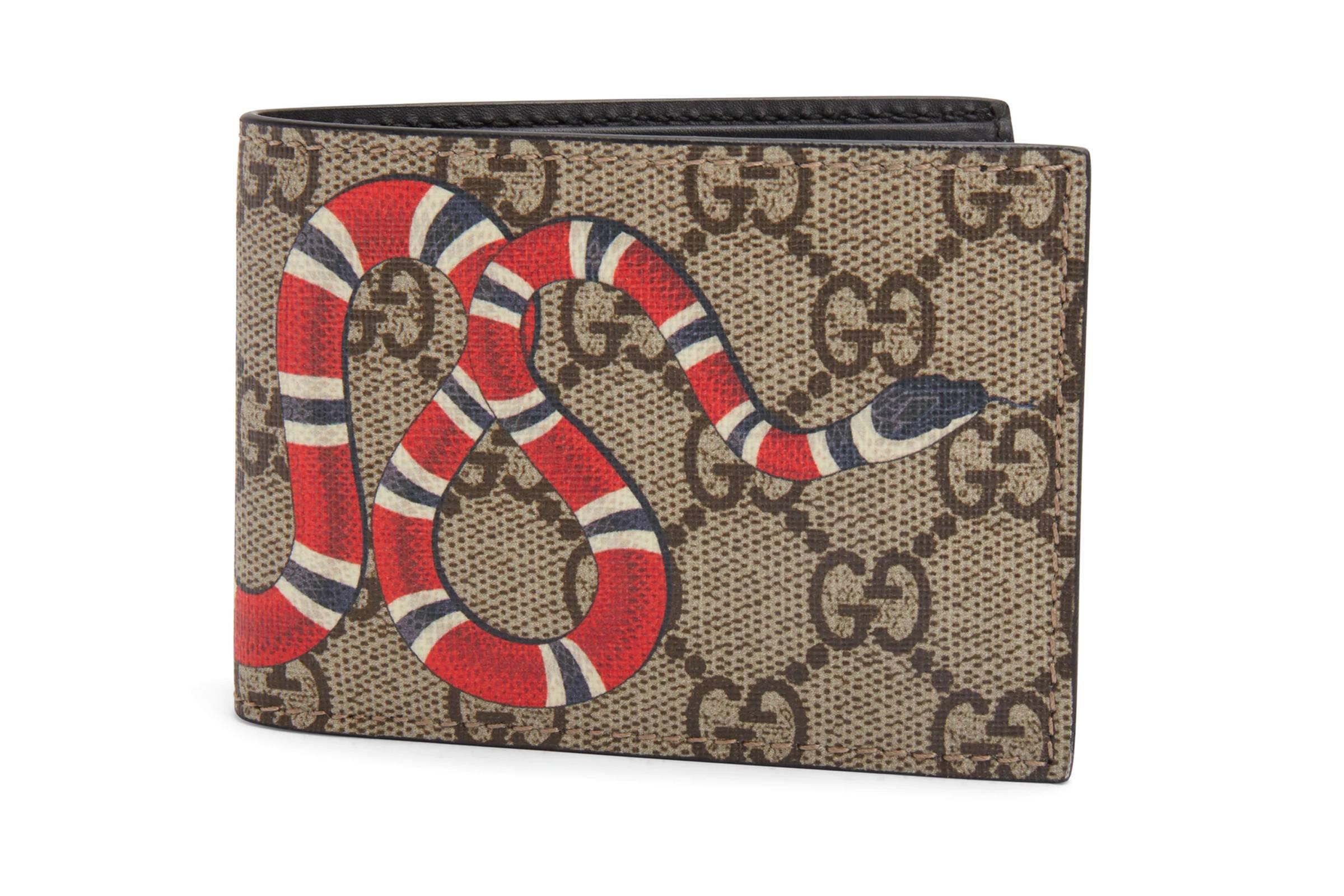Gucci Kingsnake Supreme Wallet