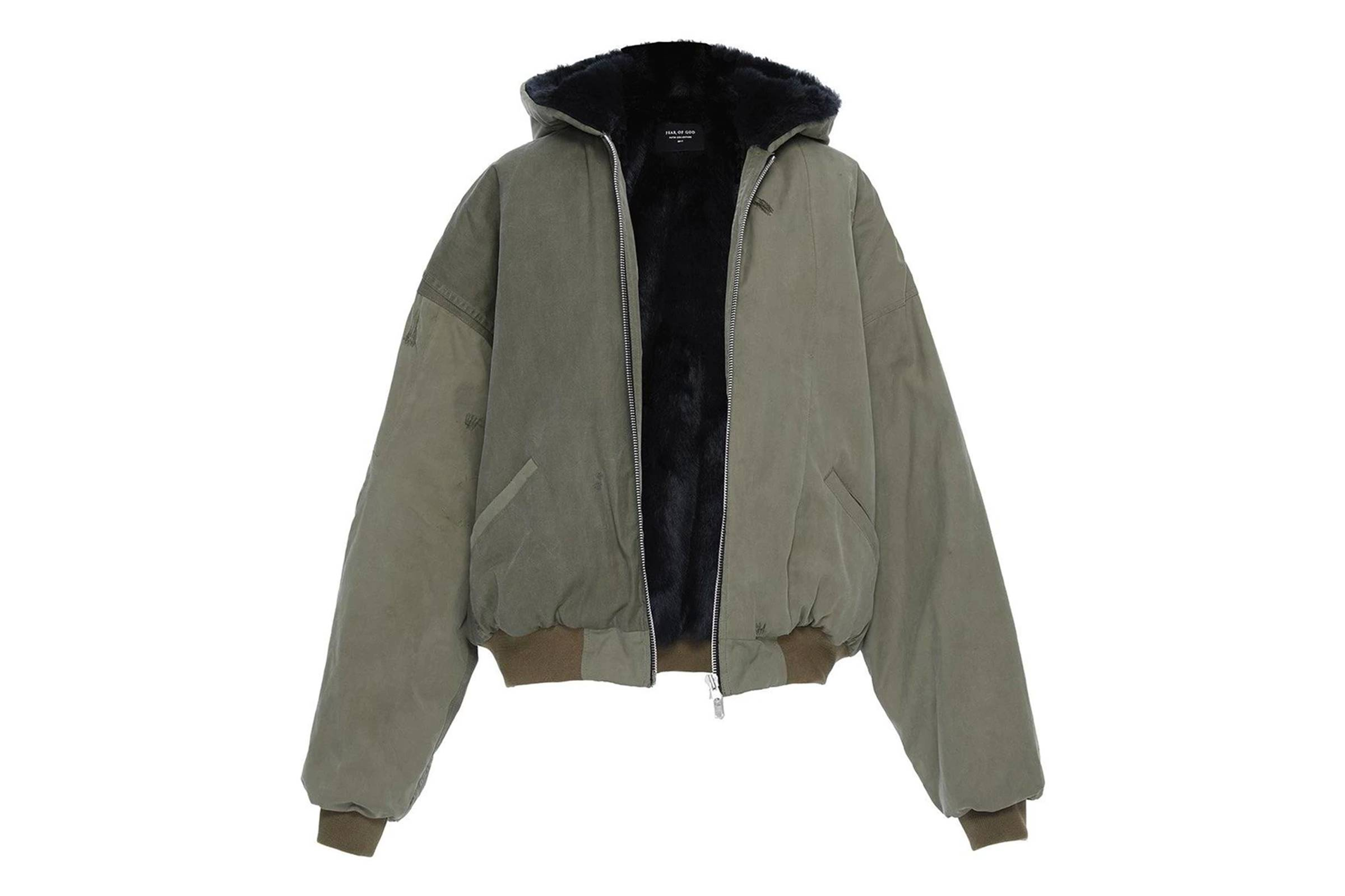 Fear of God 5th Collection Faux Fur Vintage Military Bomber