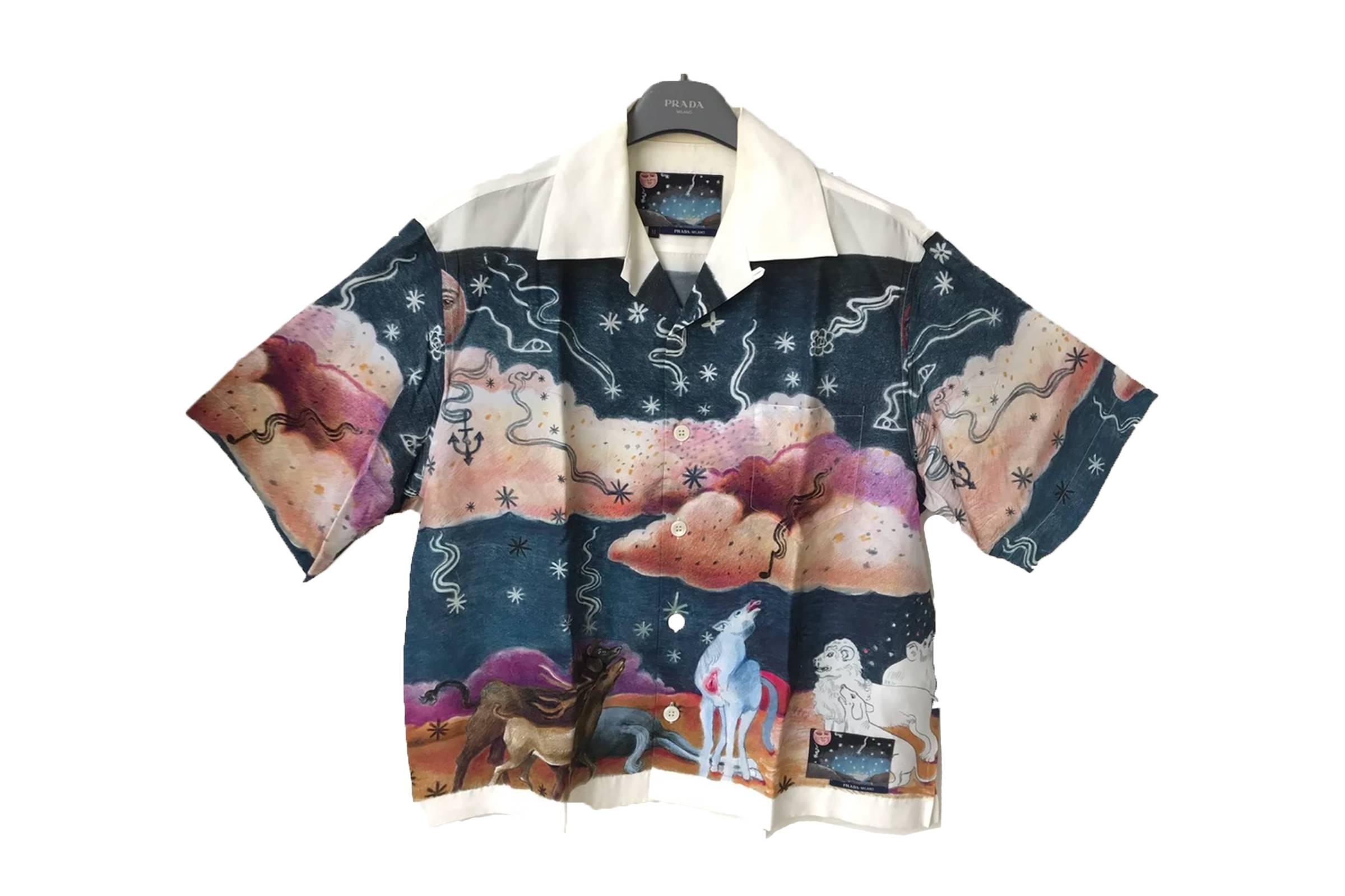 "Prada ""Impossible True Love"" Camp Collar Shirt (Unreleased Alternative Prototype)"