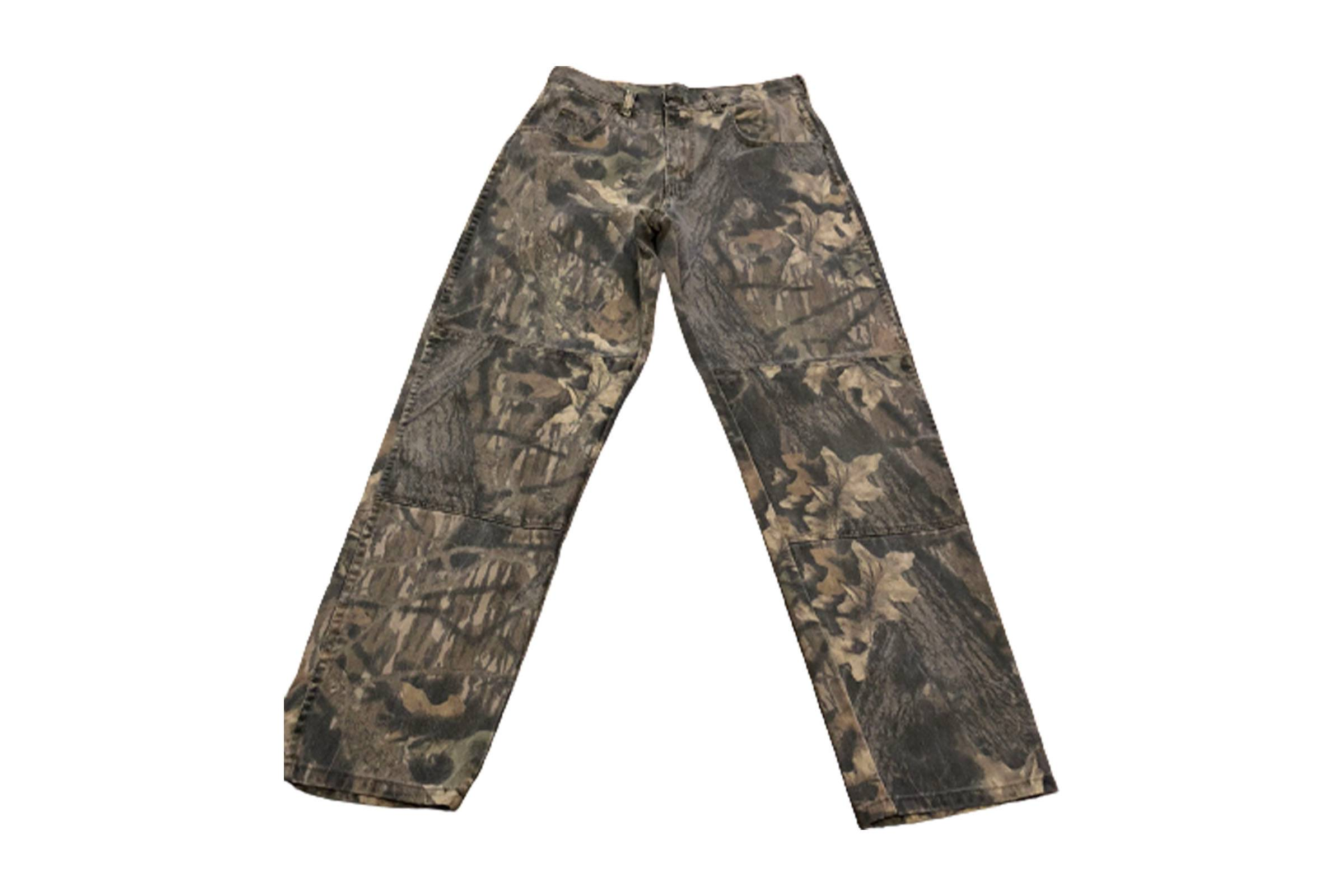Wrangler Vintage Double Knee Camo Pants