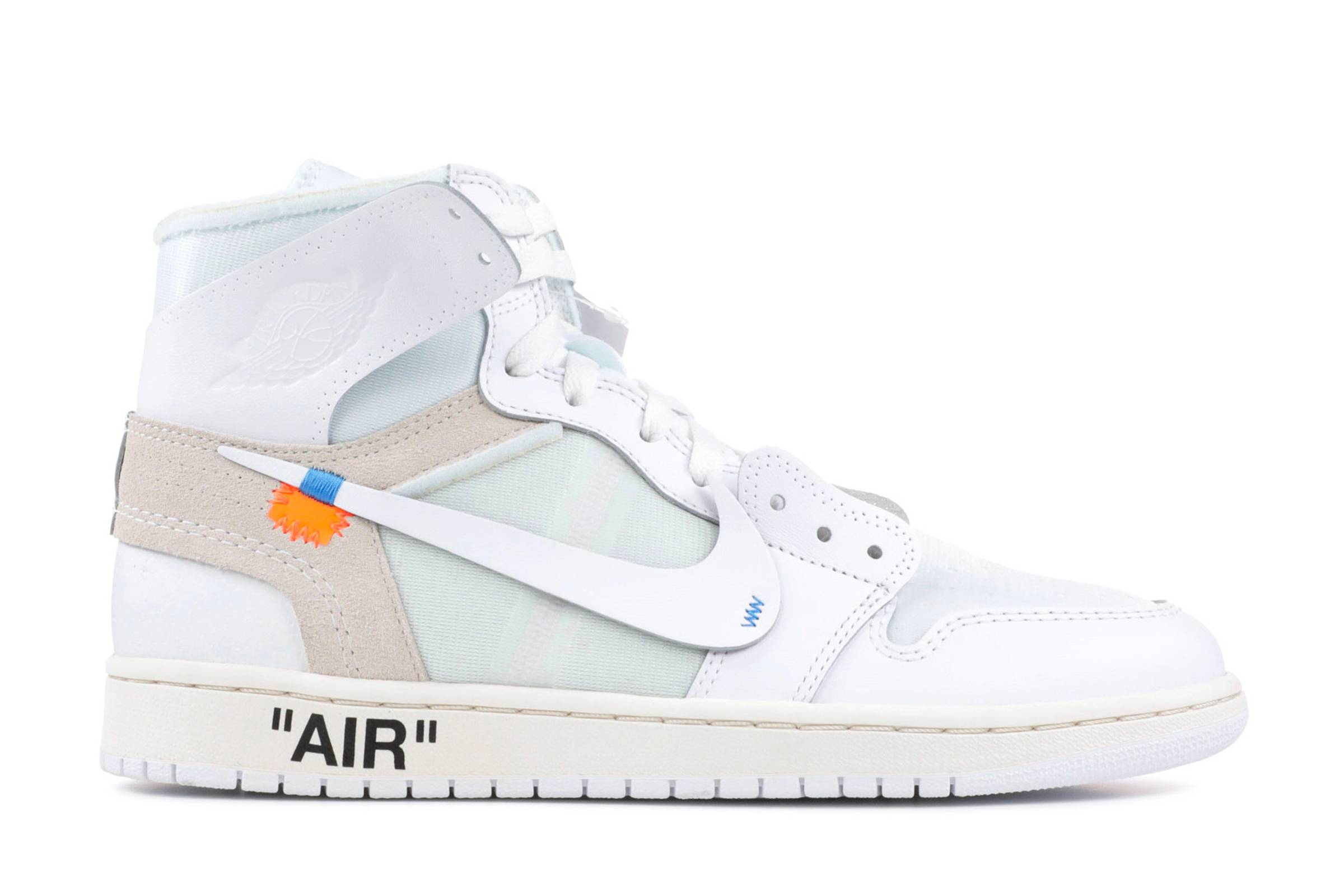 "Off-White x Air Jordan I ""White"""