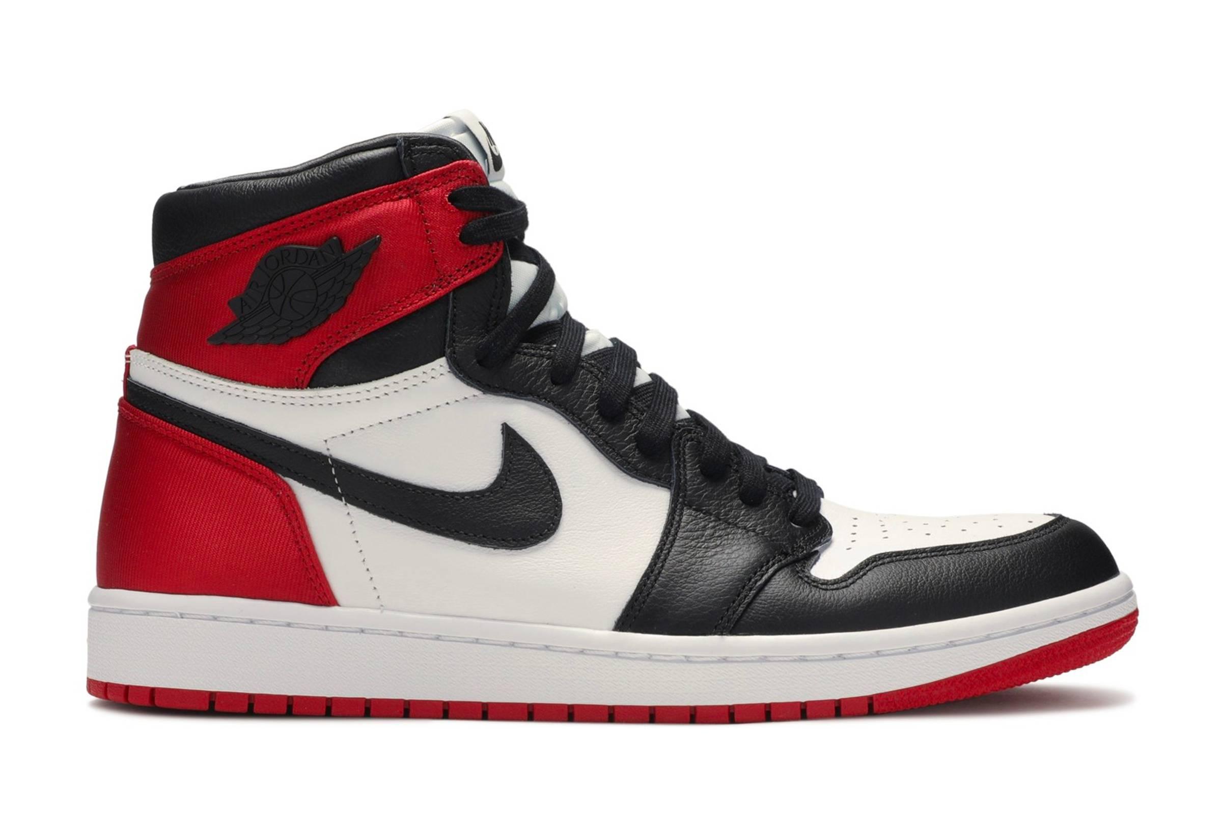 """Jordan I """"Satin Black Toe"""""""