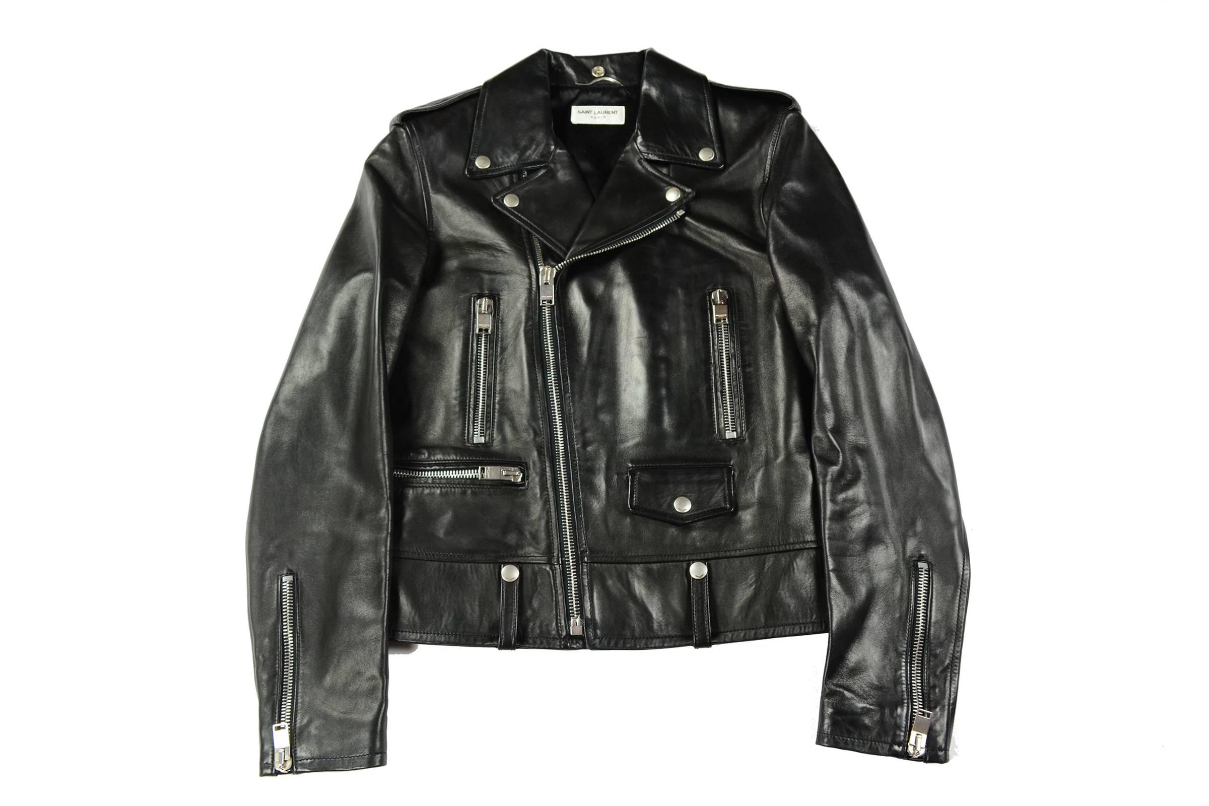 Saint Laurent Paris L01 Leather Jacket