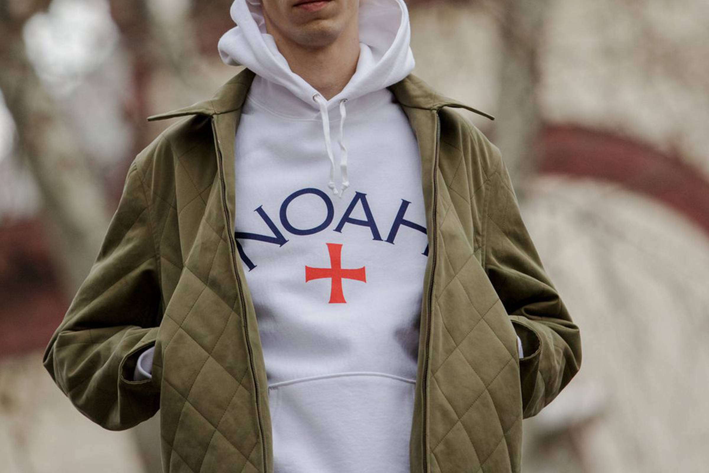 Noah offers an eclectic mix of high-end streetwear staples and luxury items