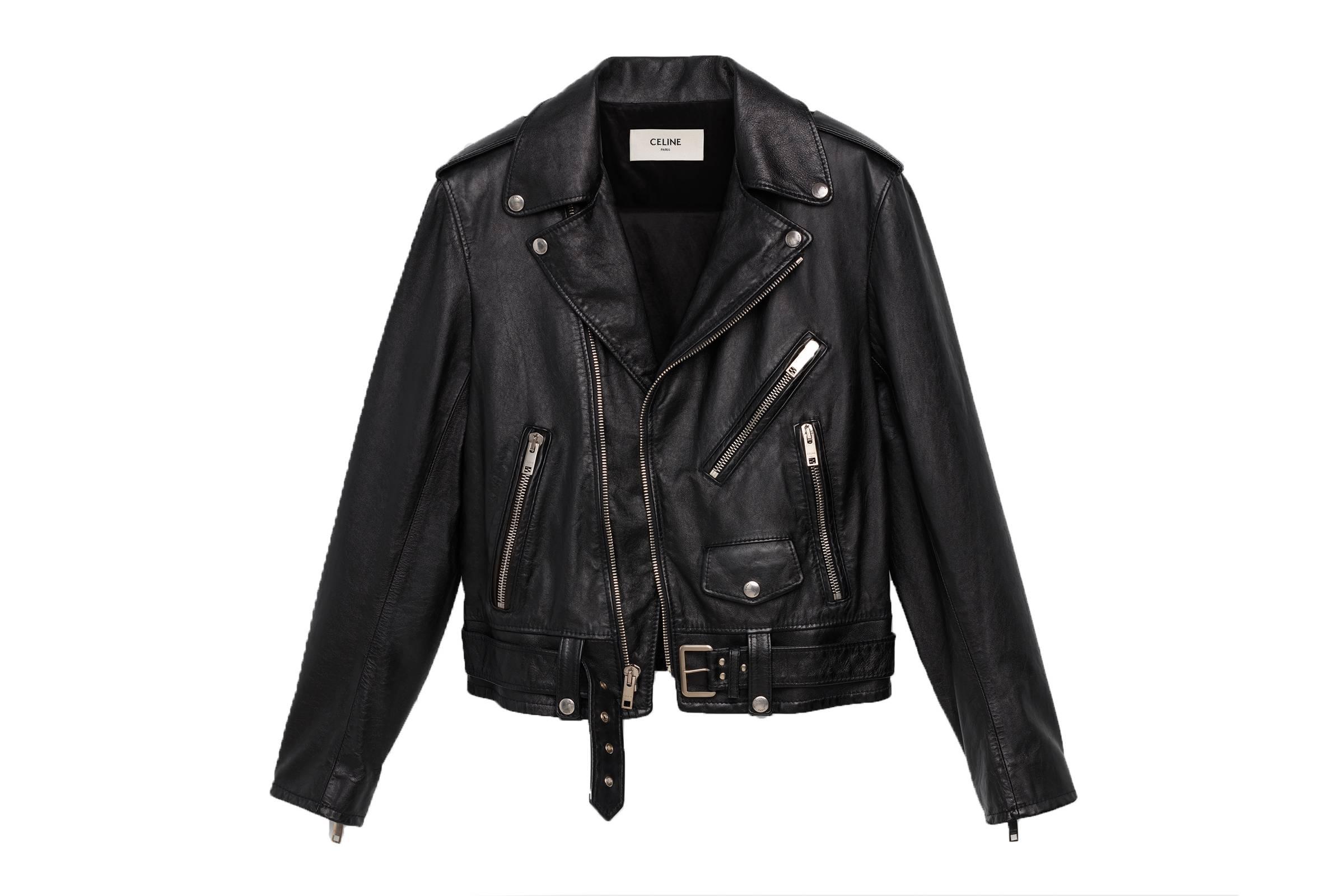 Celine Classic Calfskin Biker Jacket