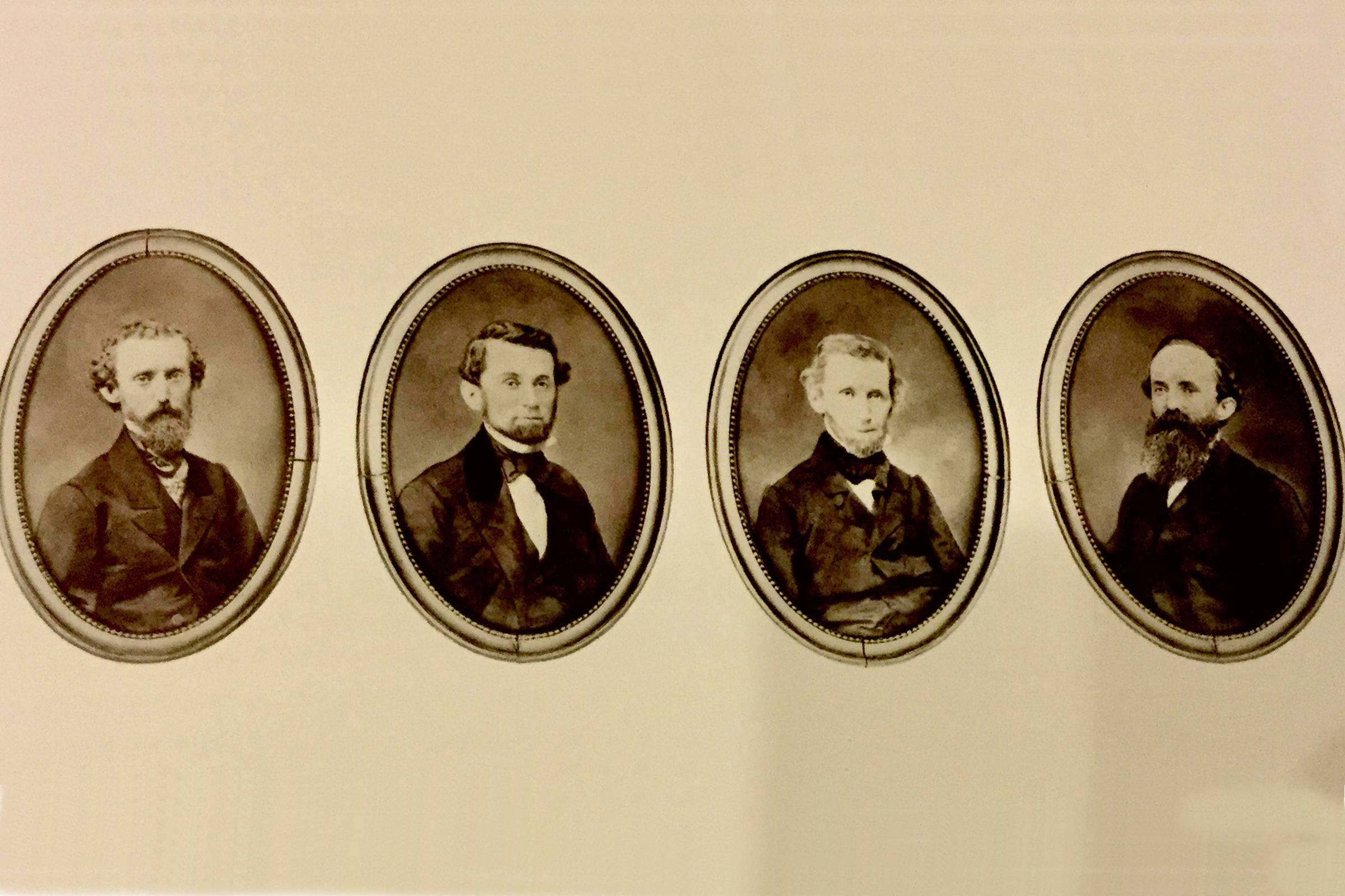 Henry Sands Brooks four eldest sons (aka the Brooks Brothers)