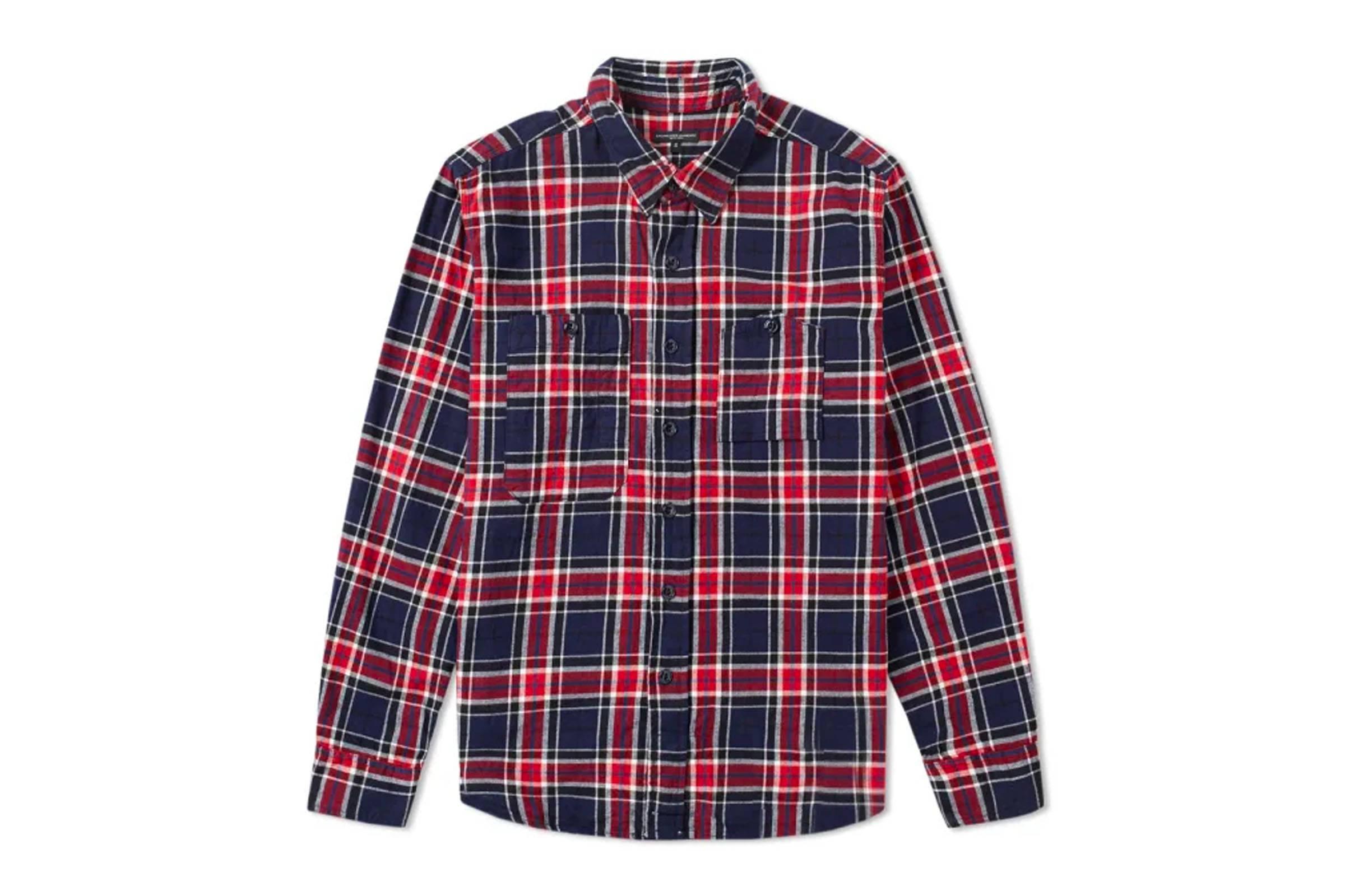 11. Engineered Garments Flannel Work Shirt