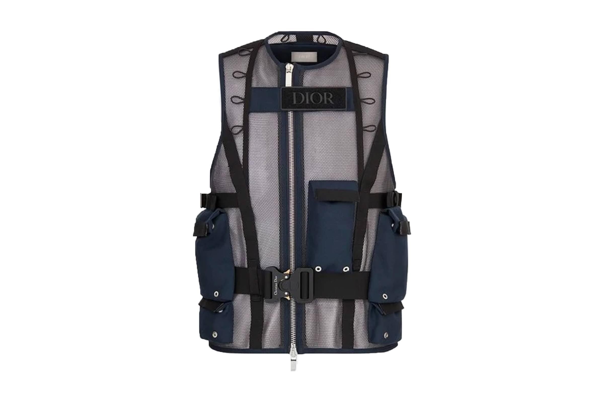 Dior Men's Technical Mesh Vest