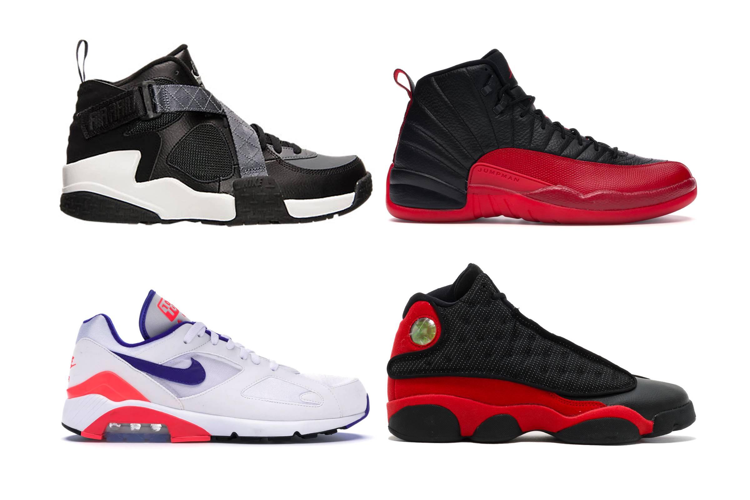 Honorable Mentions: Nike Air Raid, Jordan XII, Jordan XIII, Nike Air Max 180