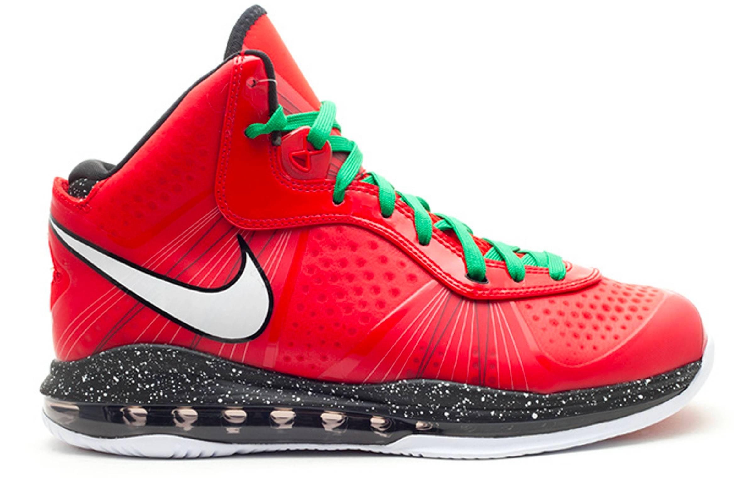 "Nike LeBron VIII V/2 ""Christmas"""