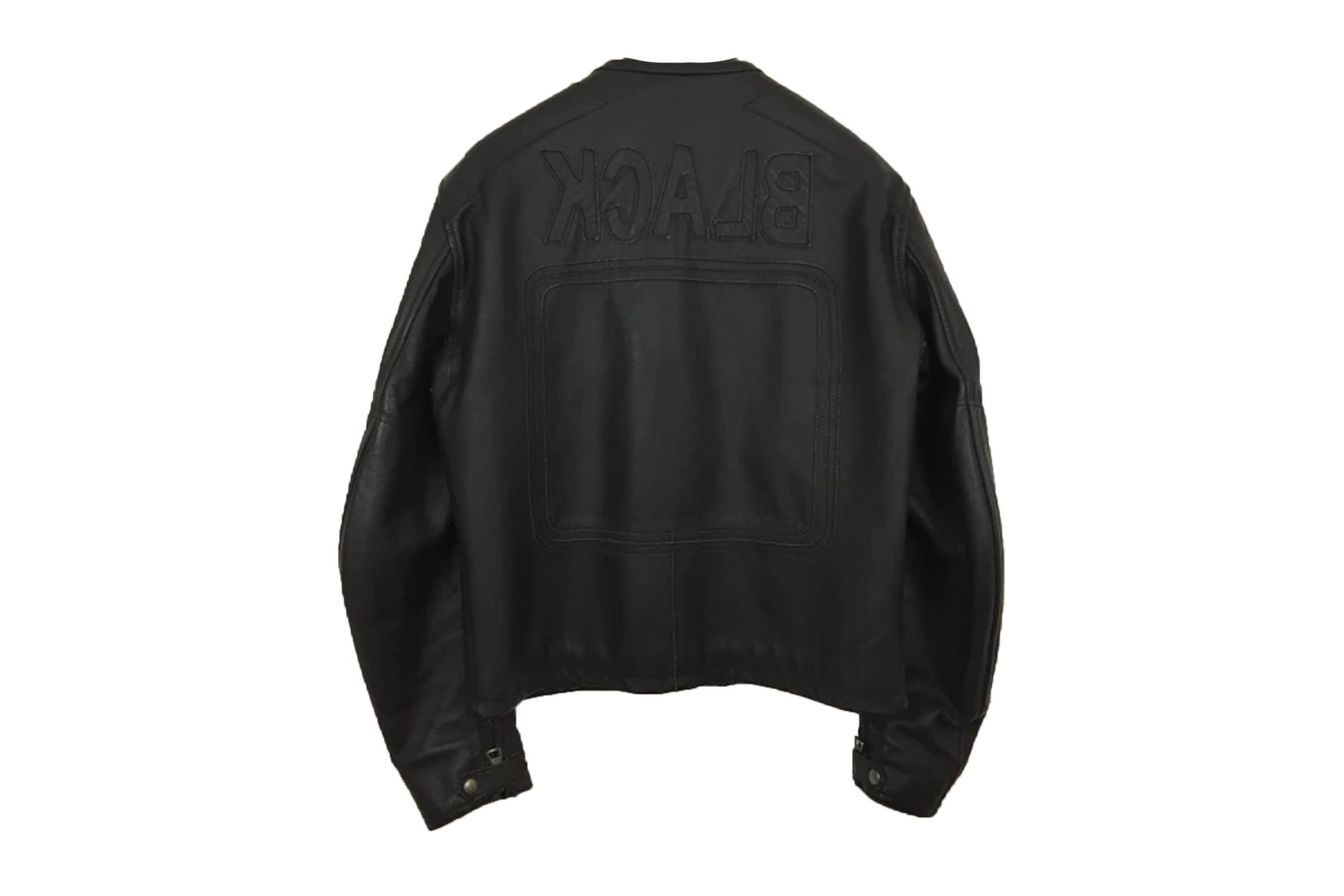 """Maison Margiela """"BLACK"""" Leather Jacket"""