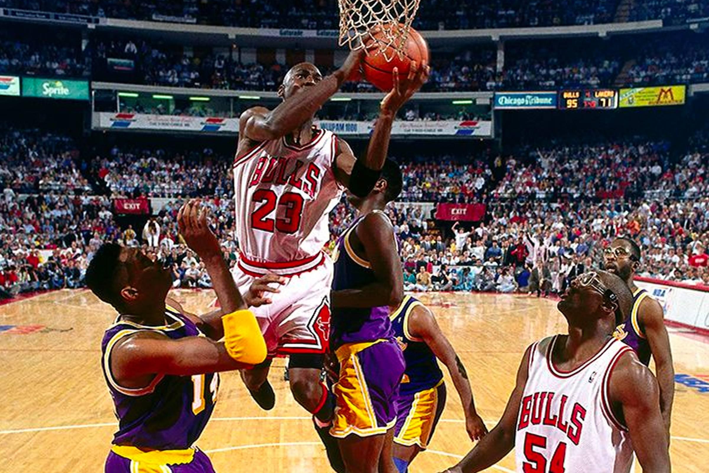 1991 NBA Finals, Game 2