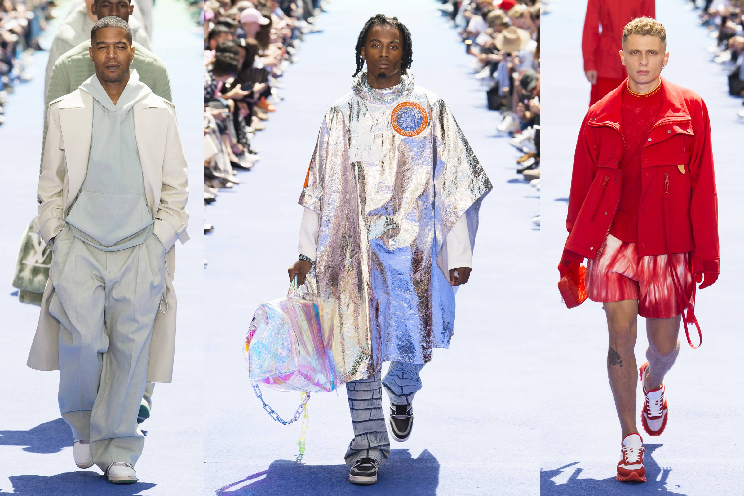 Virgil Abloh's Rainbow Connection at Louis Vuitton