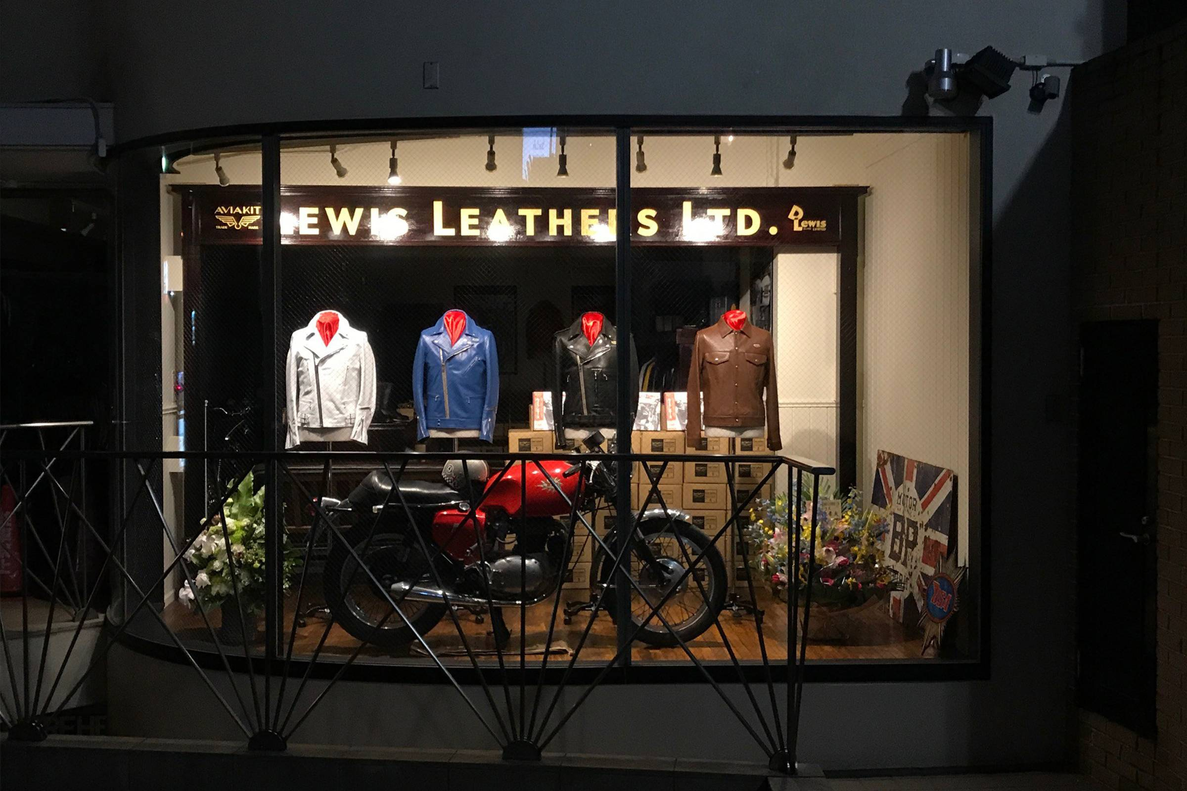 Lewis Leathers Tokyo Store