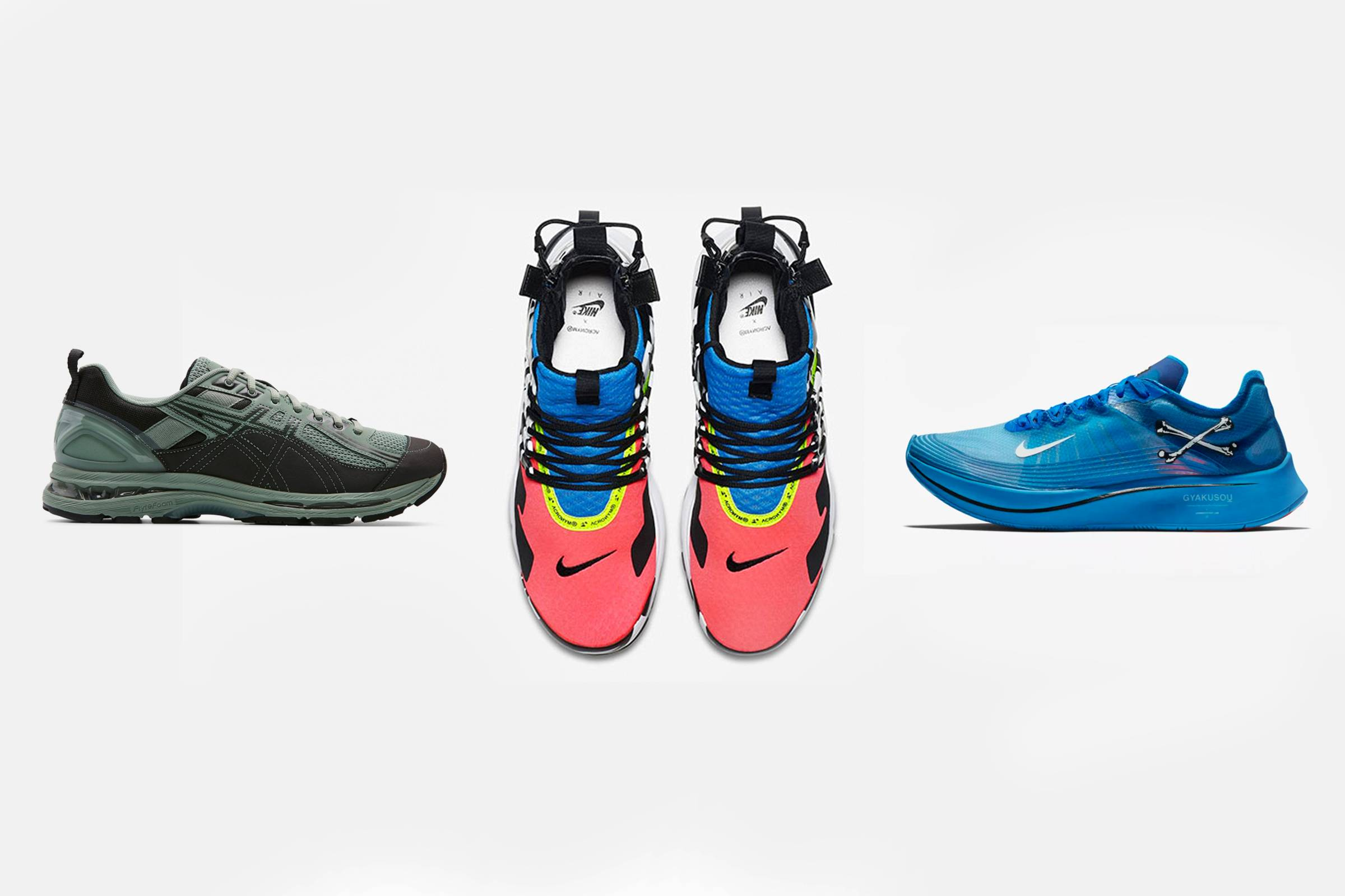 Three Collaborations That Display Fashion's Relationship with Running Technology