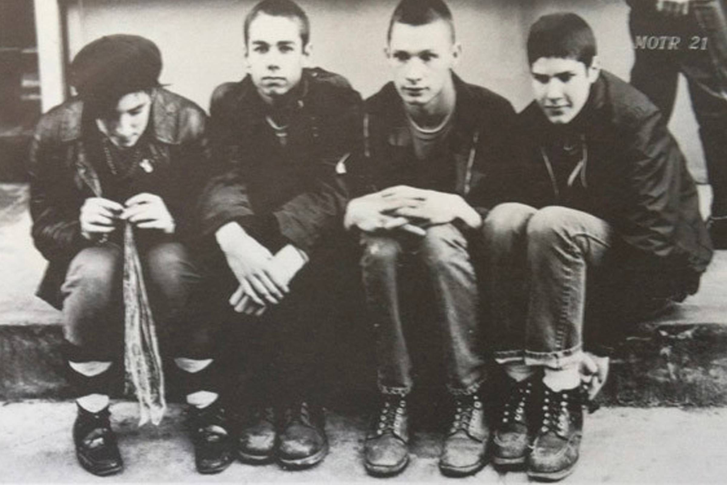 The Young Aborigines, a precursor to what would become The Beastie Boys, in 1982