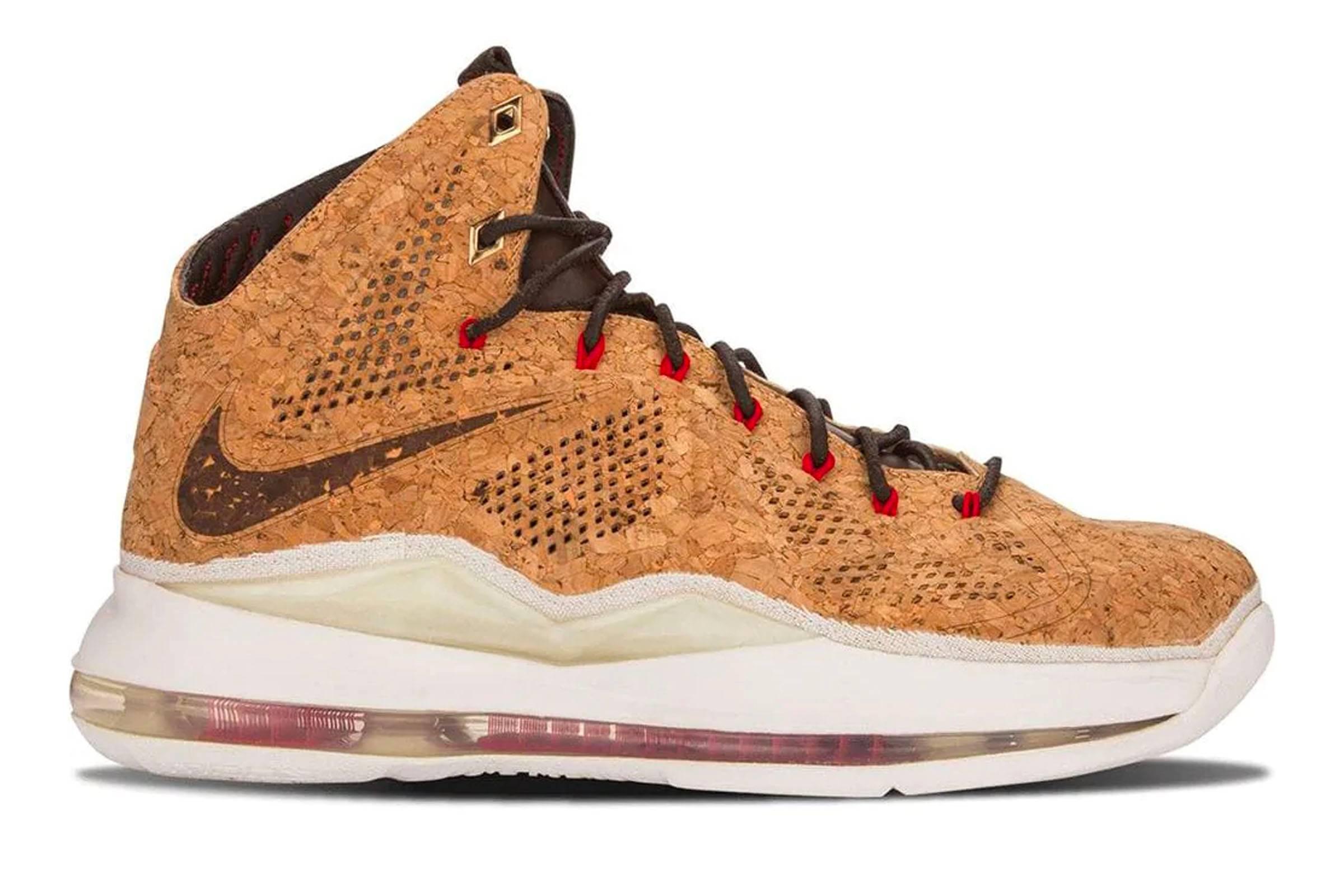 "Nike LeBron X EXT ""Cork"""