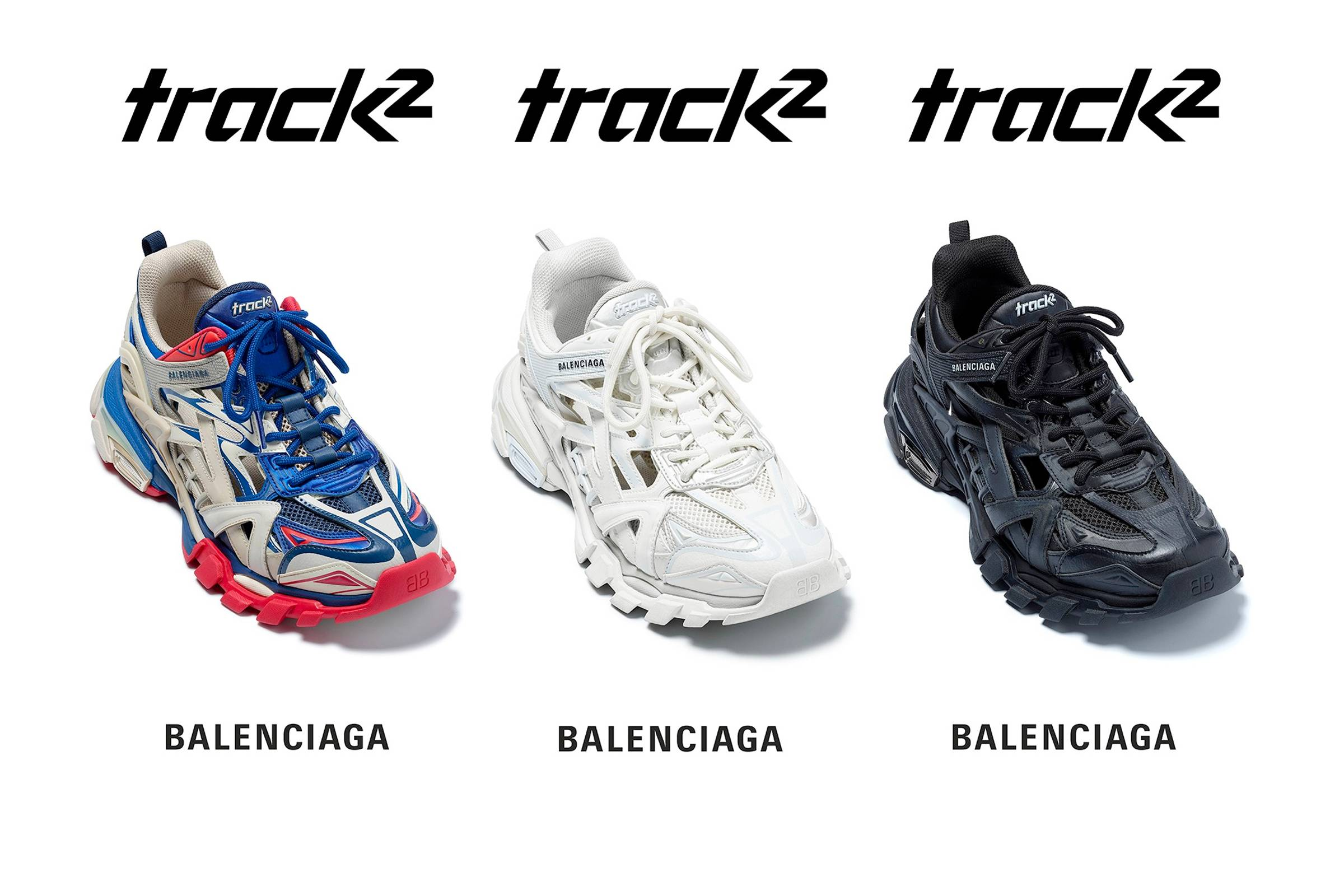 Balenciaga Debuts The All New Track 2 Sneaker Grailed