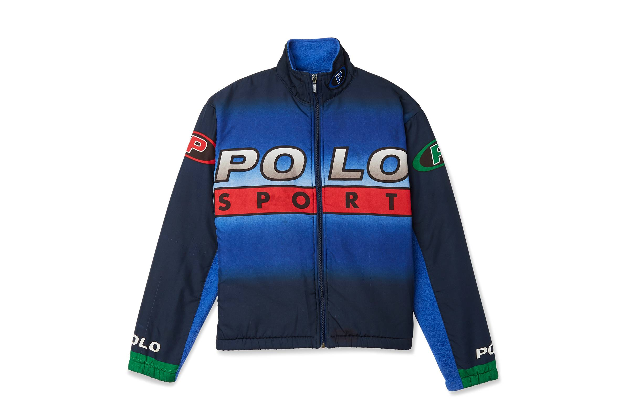 "Polo Sport Polartec ""Pepsi Fleece"" Jacket"