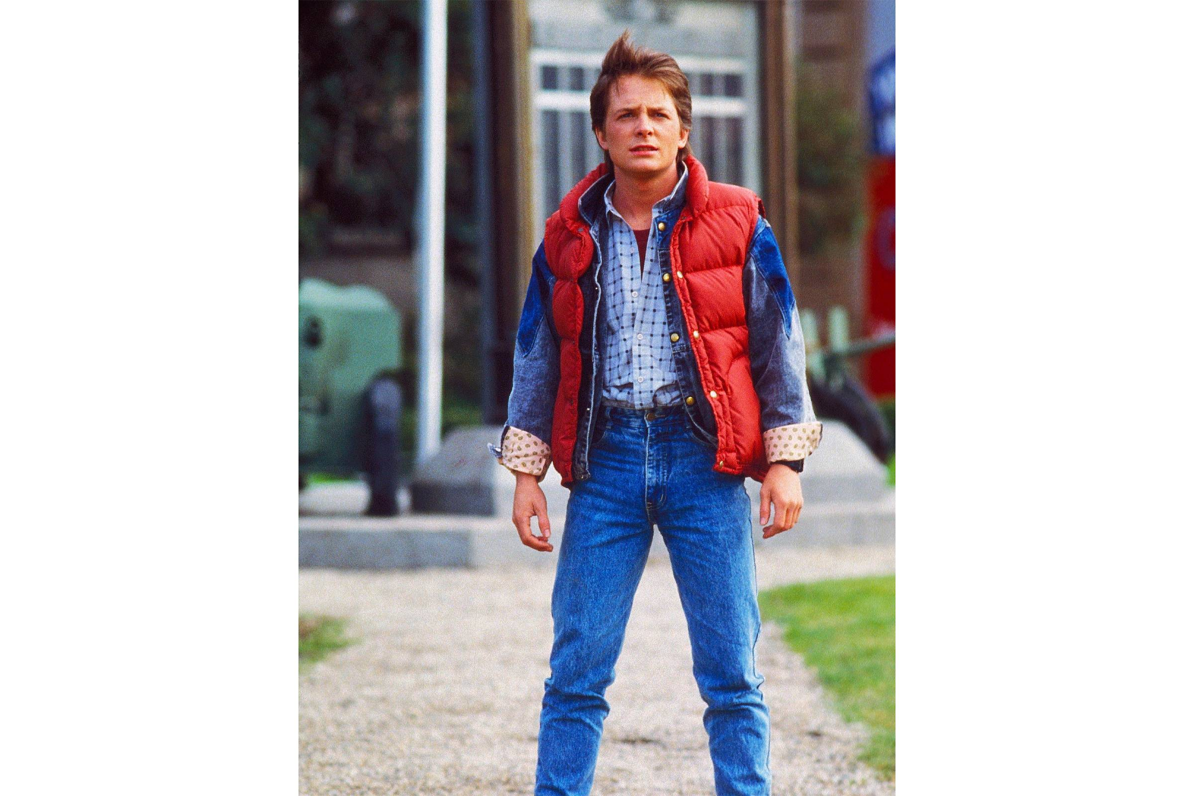 "Marty McFly, (""Back to the Future"", 1985)"