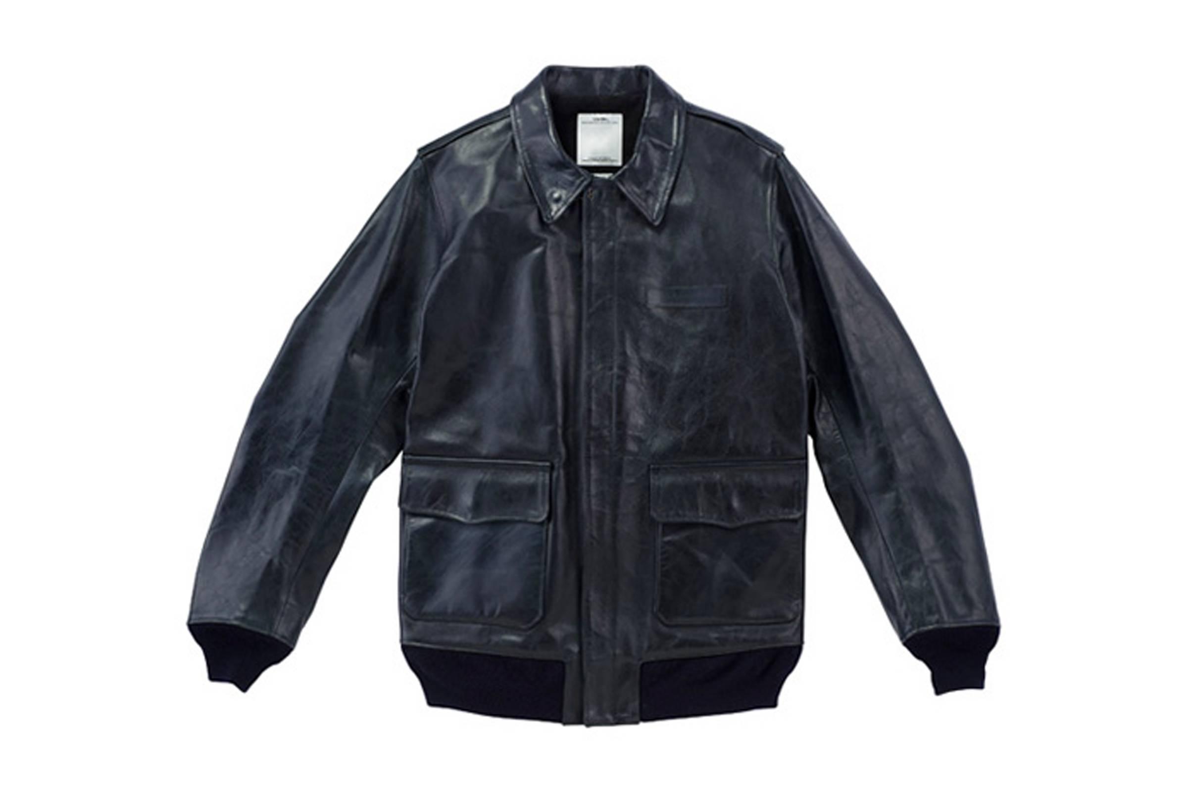 Visvim Ellendorf Leather Jacket