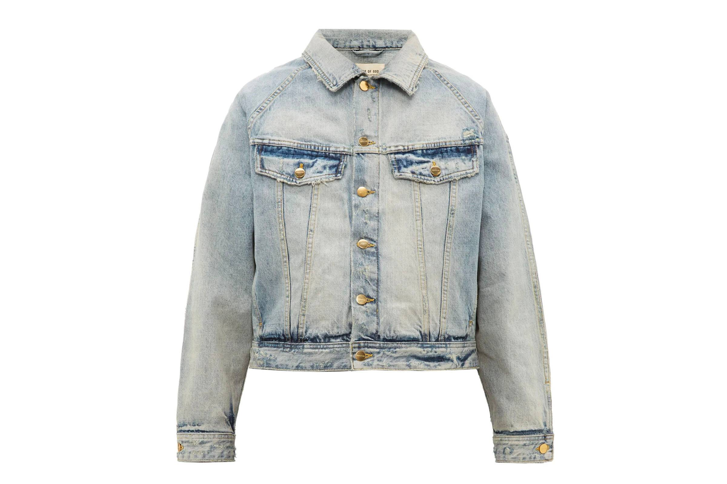 Fear of God Cropped Denim Trucker
