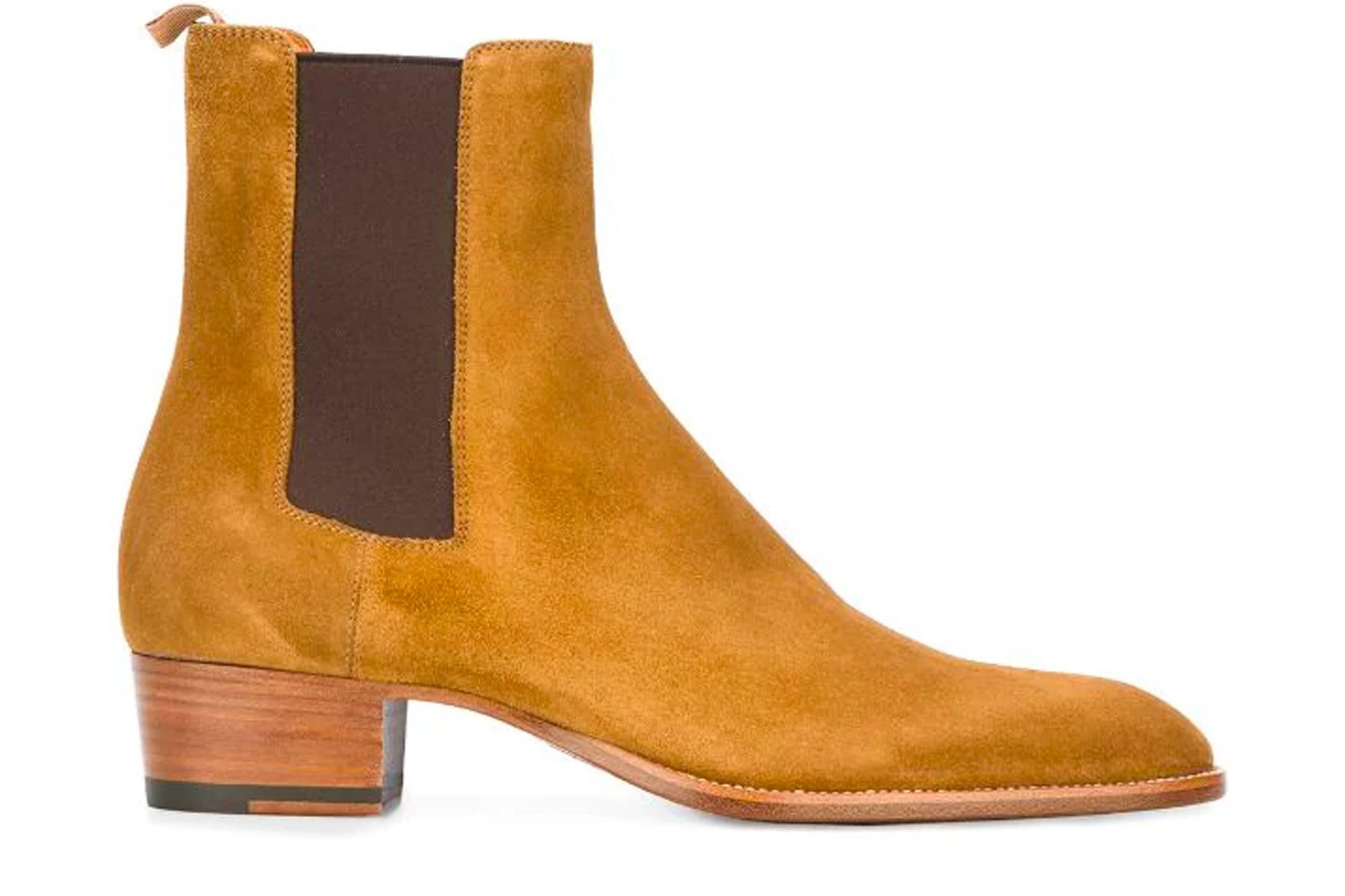 Saint Laurent Paris Wyatt Boot