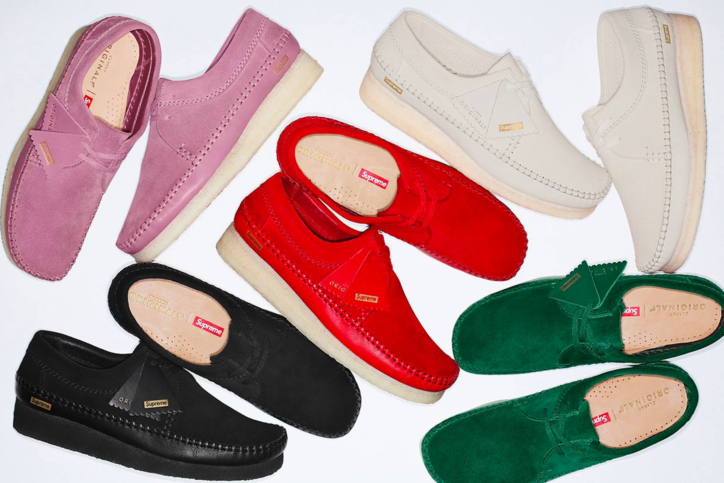 Supreme Adds a Clarks Collab to Its Spring/Summer 2018 Collection