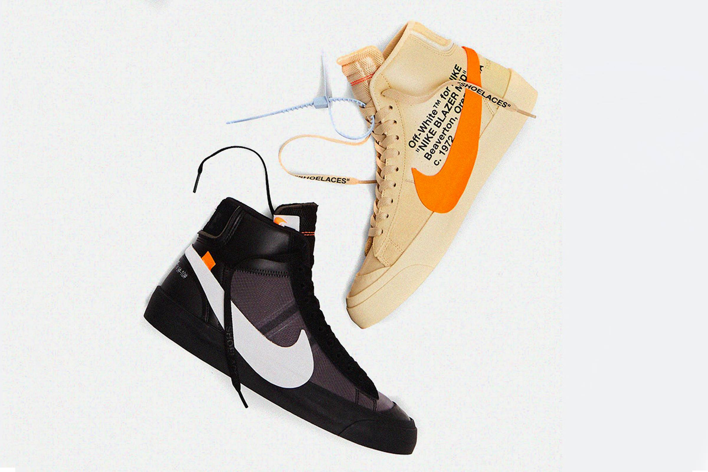 """Off-White and Nike Officially Confirm """"Spooky Pack"""" Nike Blazers"""
