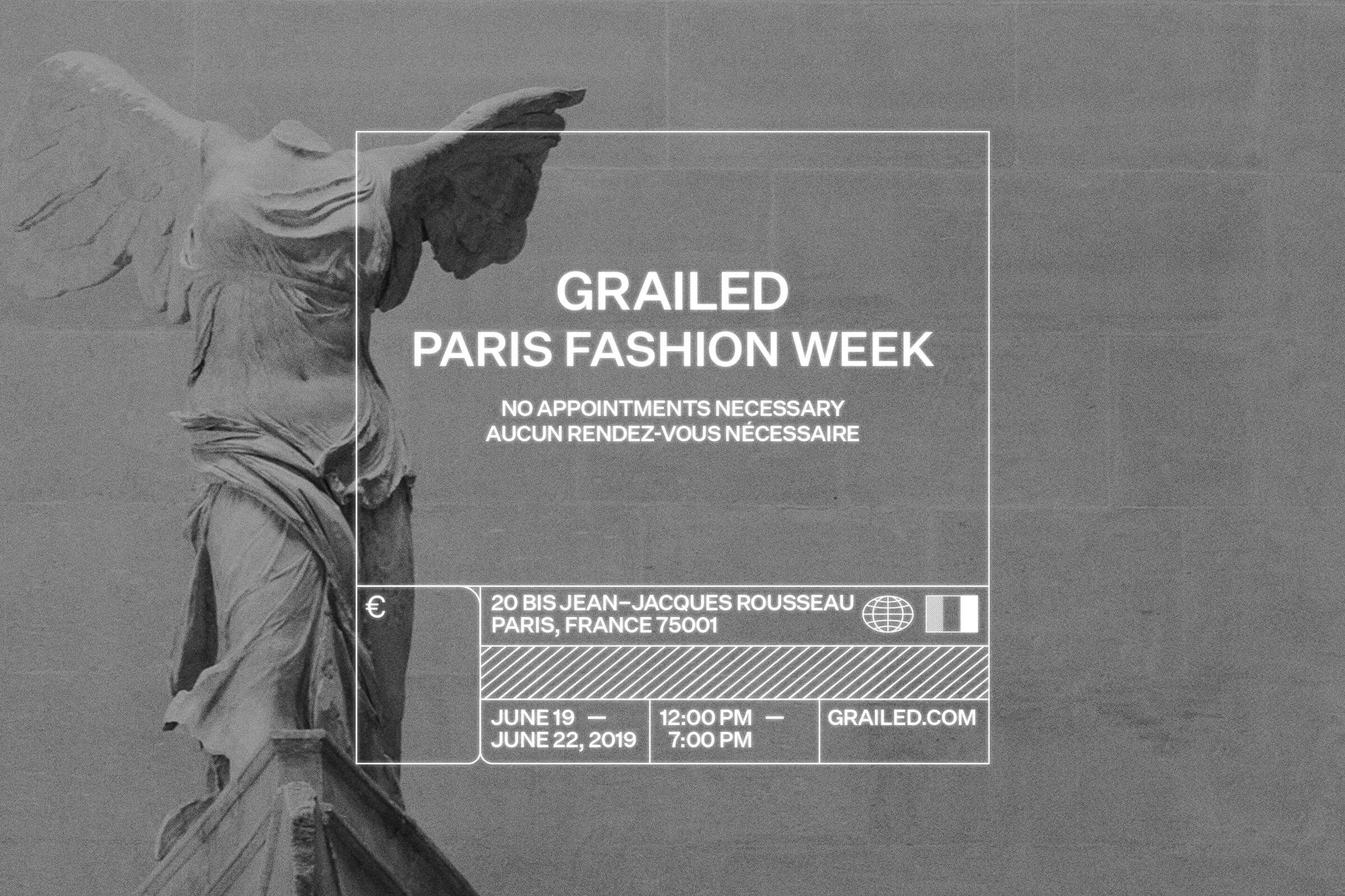 "Grailed Paris: ""No Appointments Necessary"""