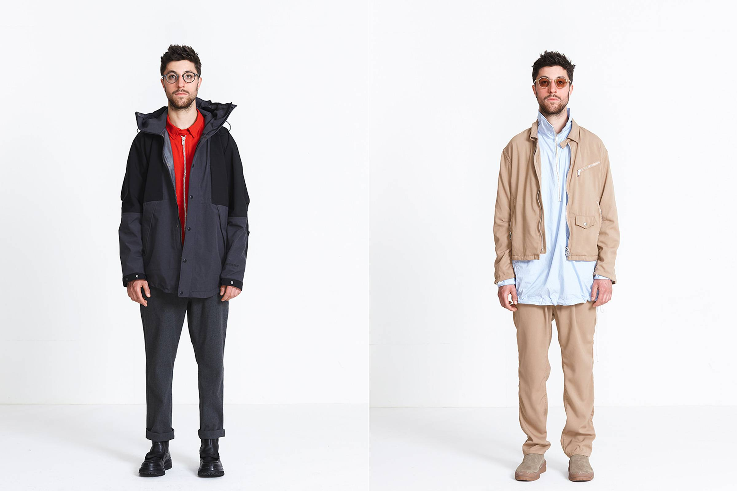 Looks from Nonnative's Fall/Winter 2018 collection