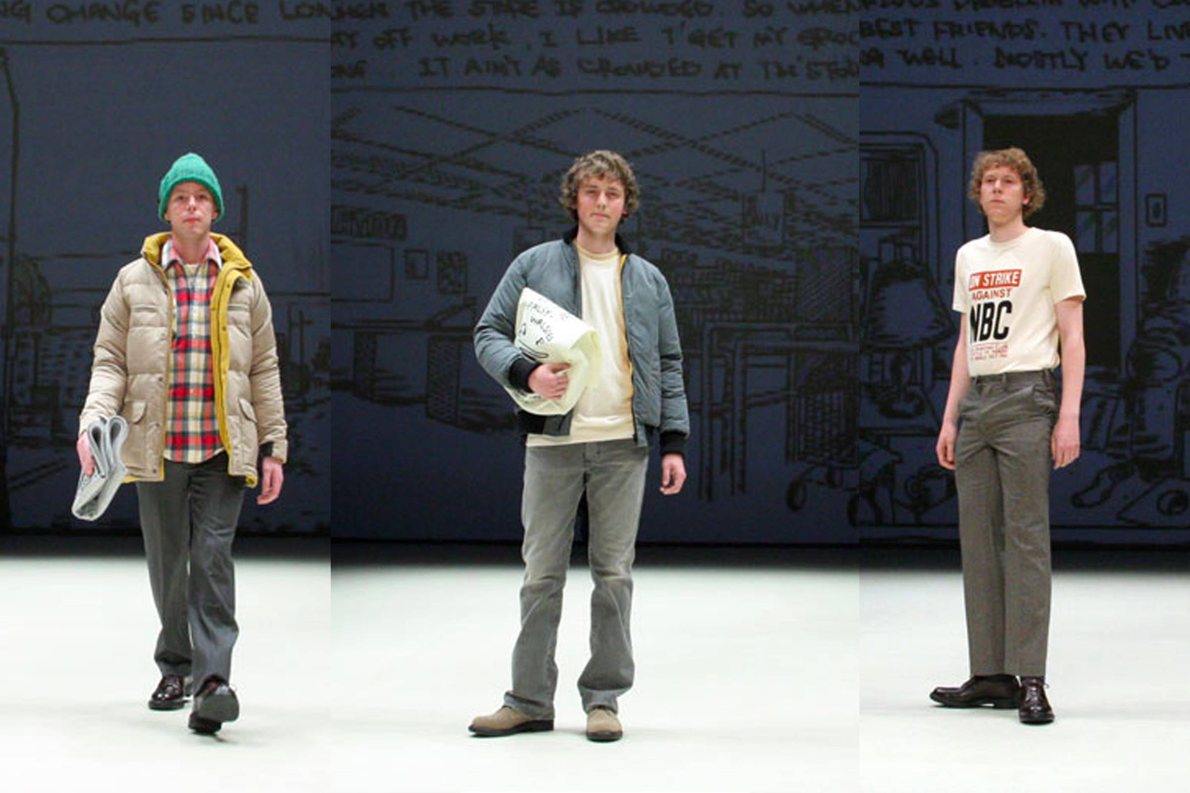 "Looks from N. Hoolywood's Fall/Winter 2008 ""Daily Life Truth"" collection"