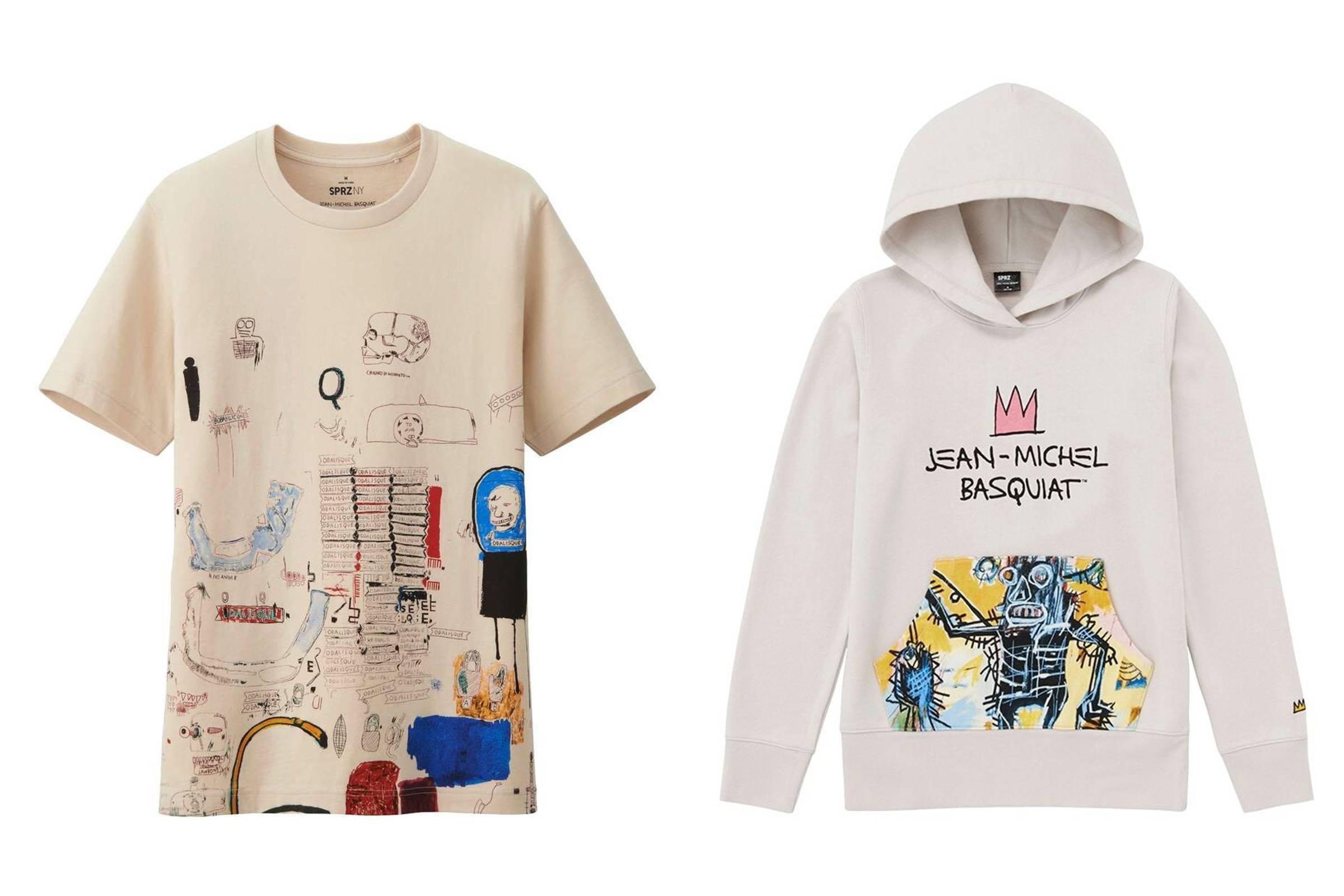 Uniqlo SPRZ NY x Estate of Jean-Michel Basquiat Spring 2014 (ONGOING)