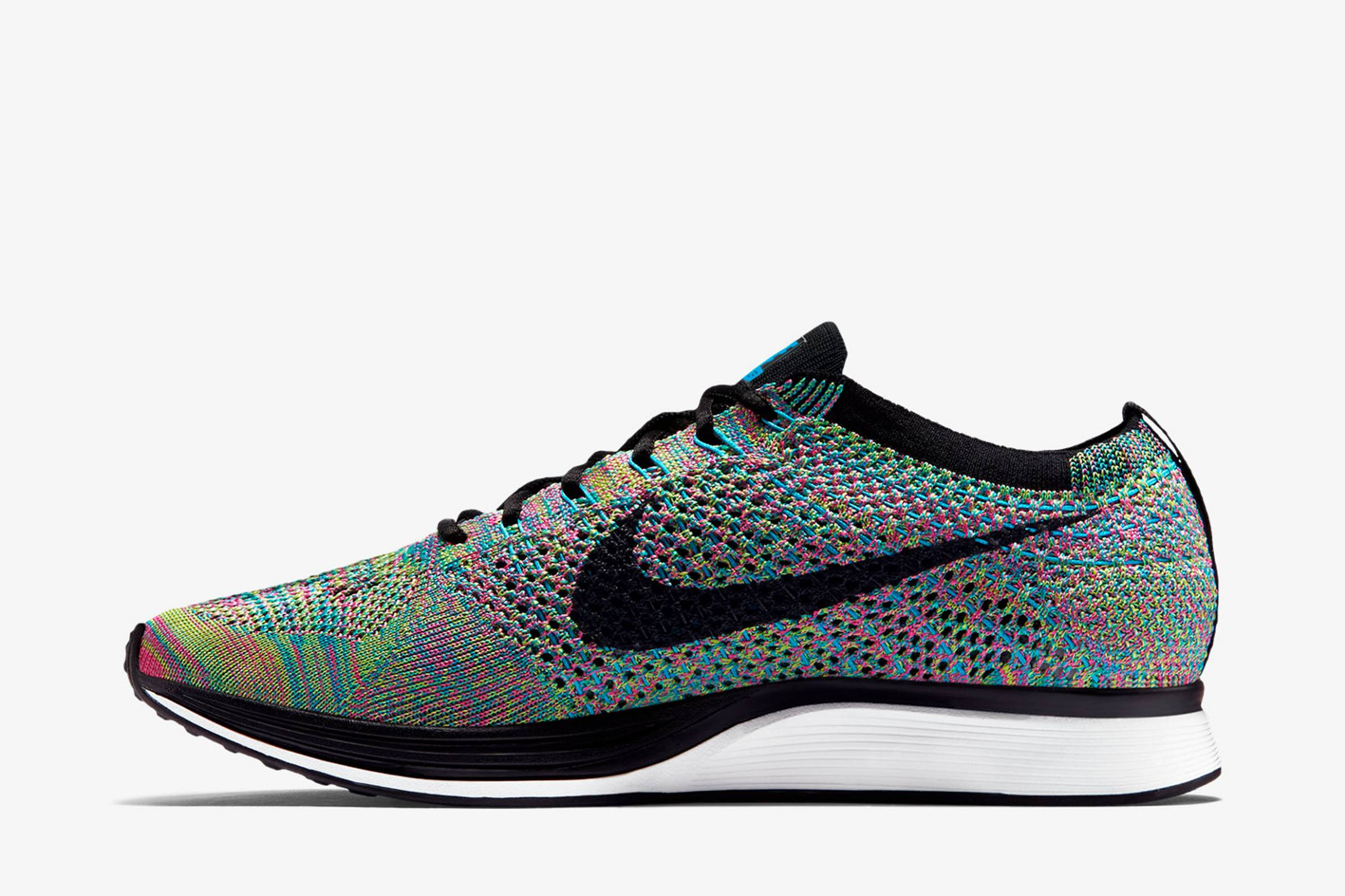 e525afc8f3531 Few shoes score as highly in both sports and style than the Nike Flyknit  Racer. Flyknit