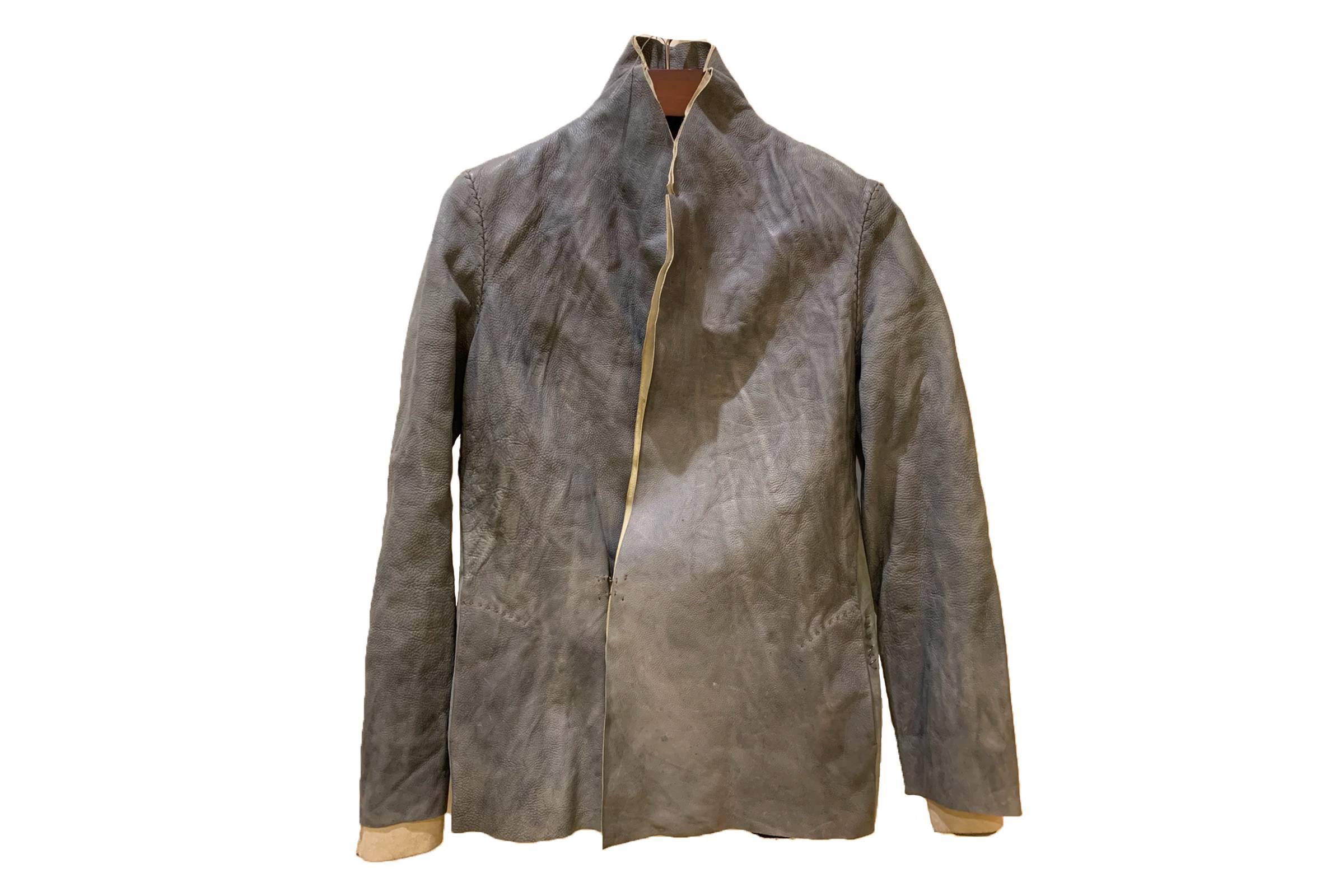 MA+ Handmade Leather Blazer