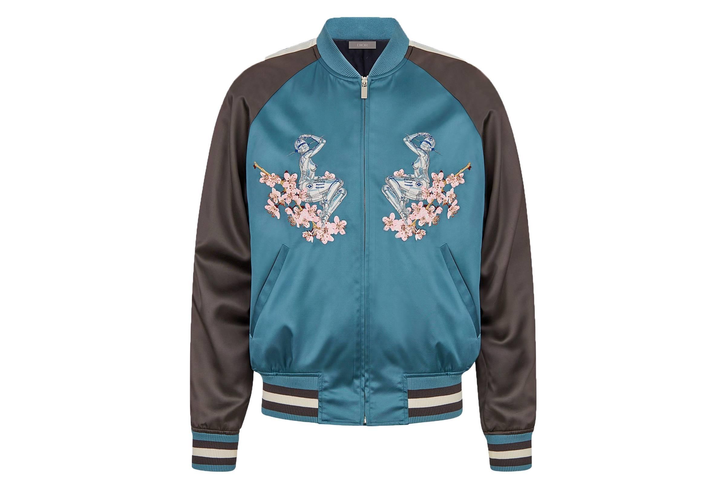 Hajime Sorayama x Dior Souvenir Jacket