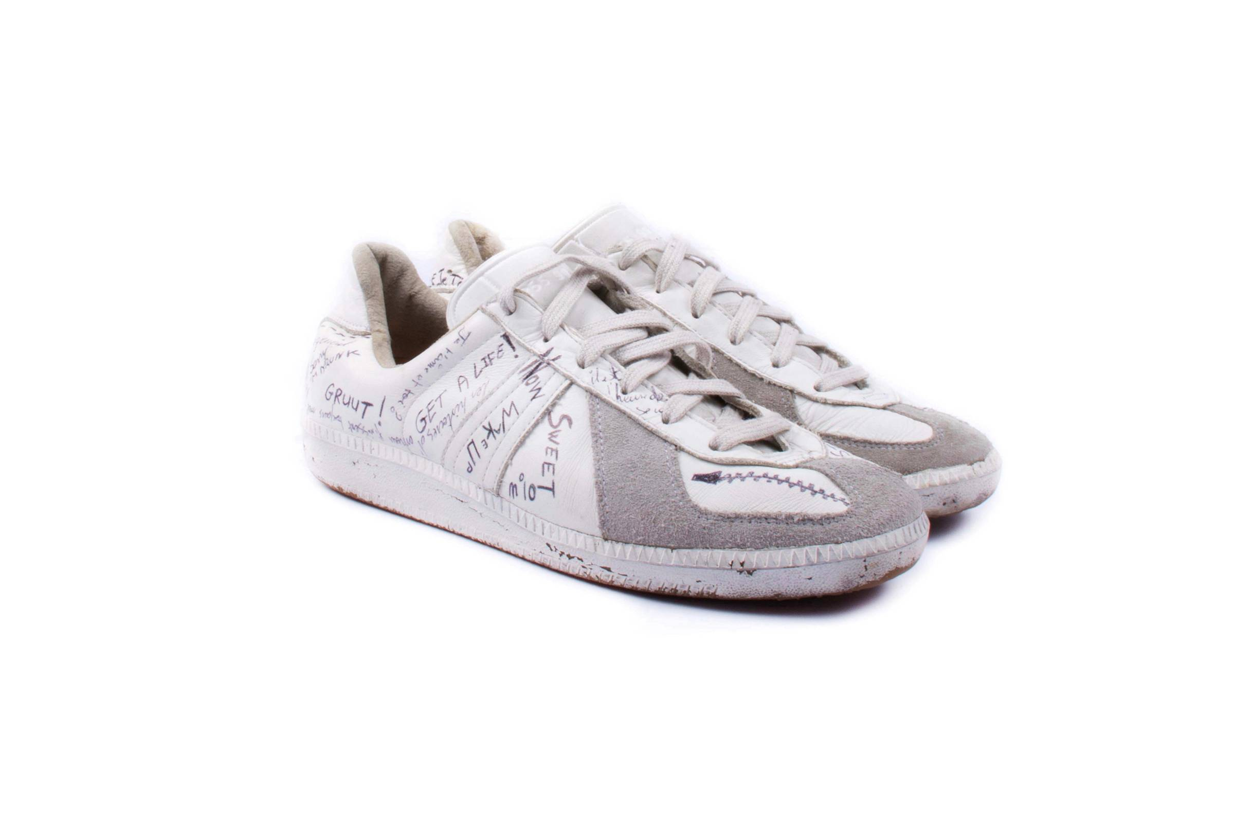 "Maison Margiela ""Graffiti"" German Army Trainers"