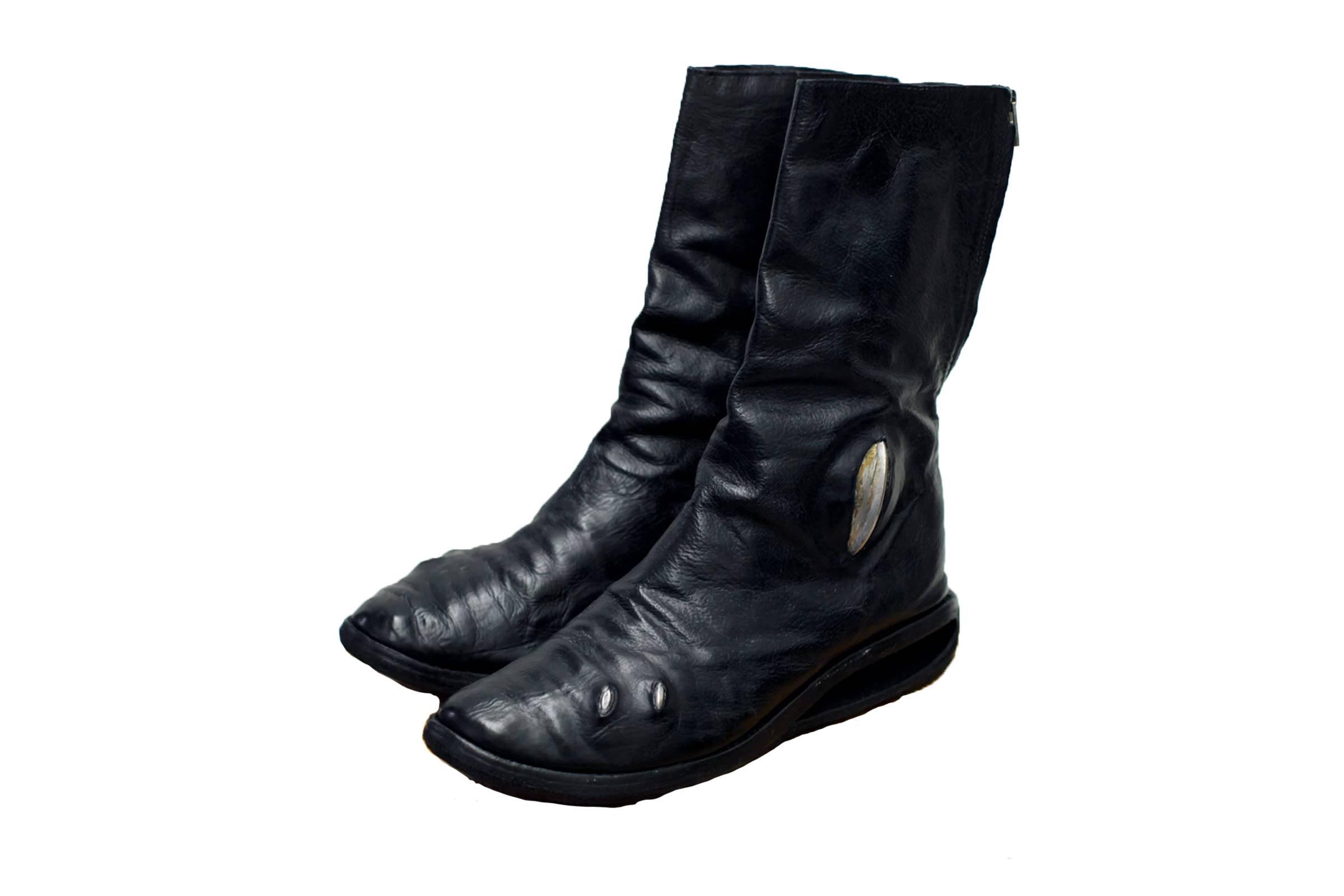 Carol Christian Poell Prosthetic U-Sole Tornado Boots