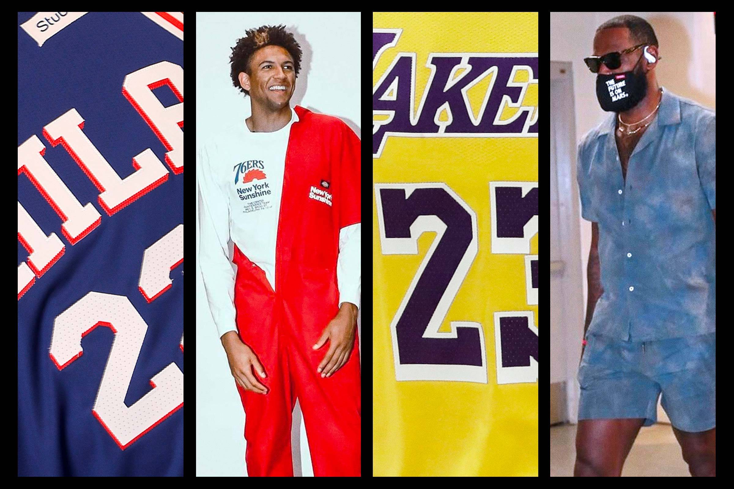 Our 10 Favorite NBA Fits: July 2020