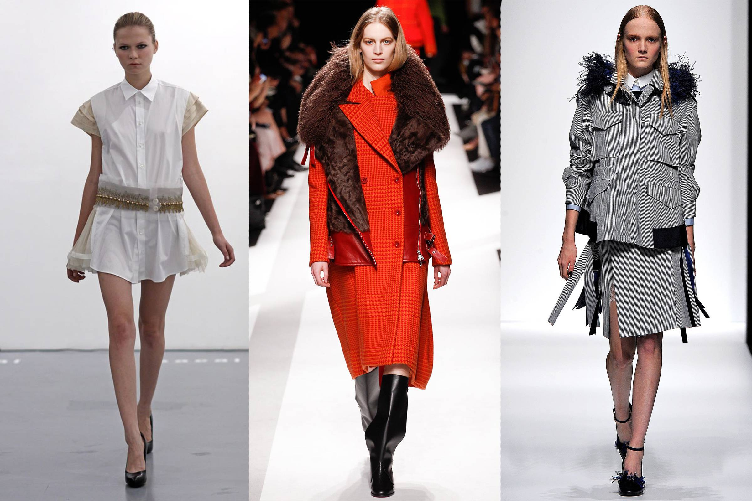 Fashion Matrimony: Kolor and Sacai's Elegant Balance